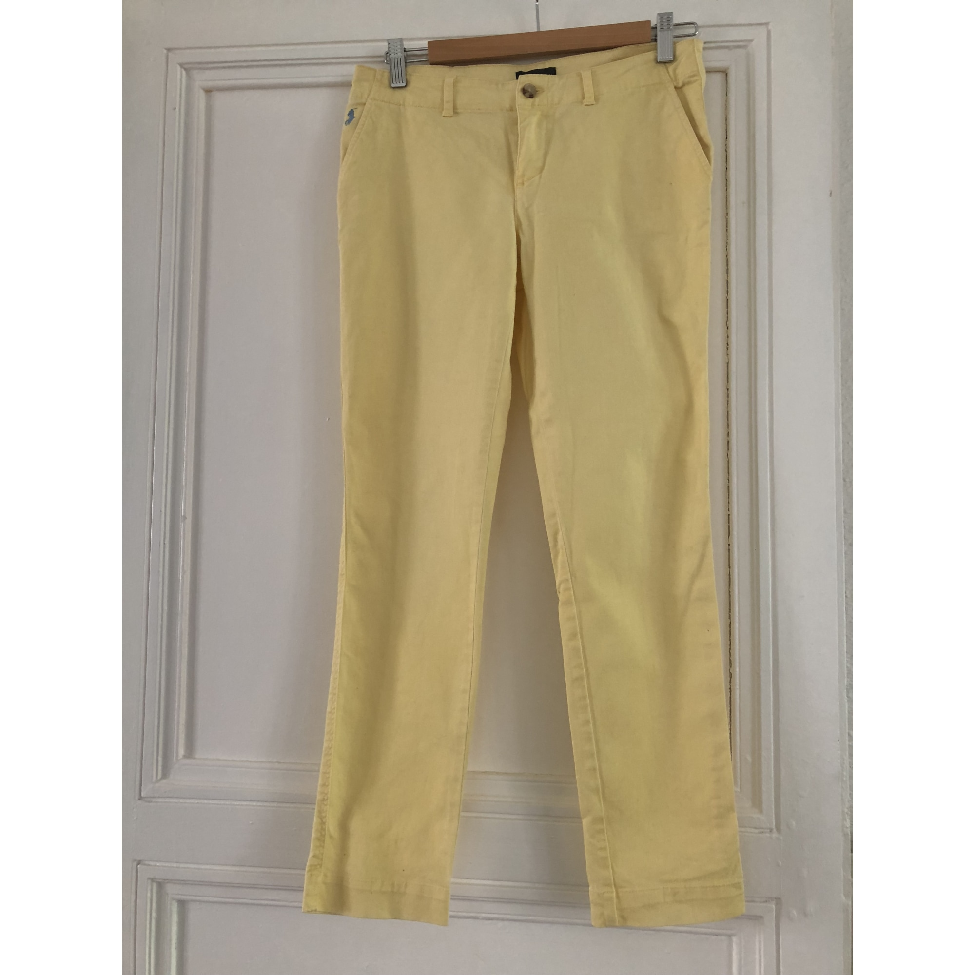 Pantalon RALPH LAUREN Jaune
