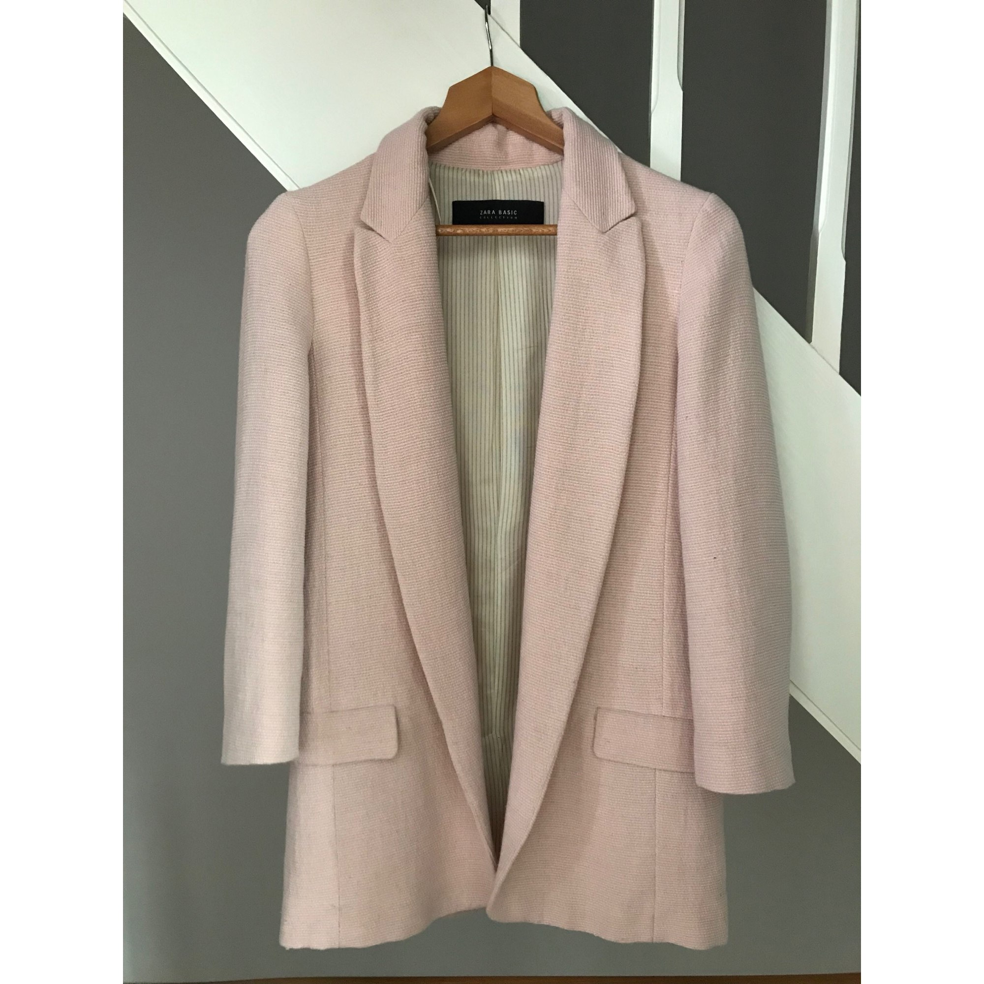 Blazer, veste tailleur ZARA 34 (XS, T0) rose 7588441