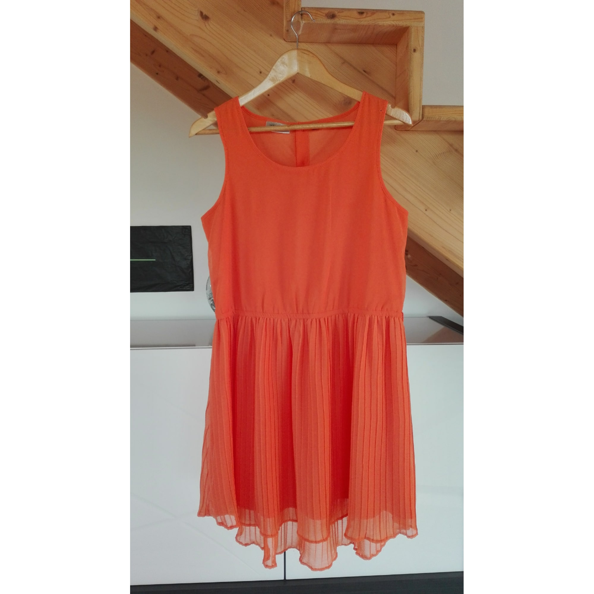 Robe mi-longue K.WOMAN Orange