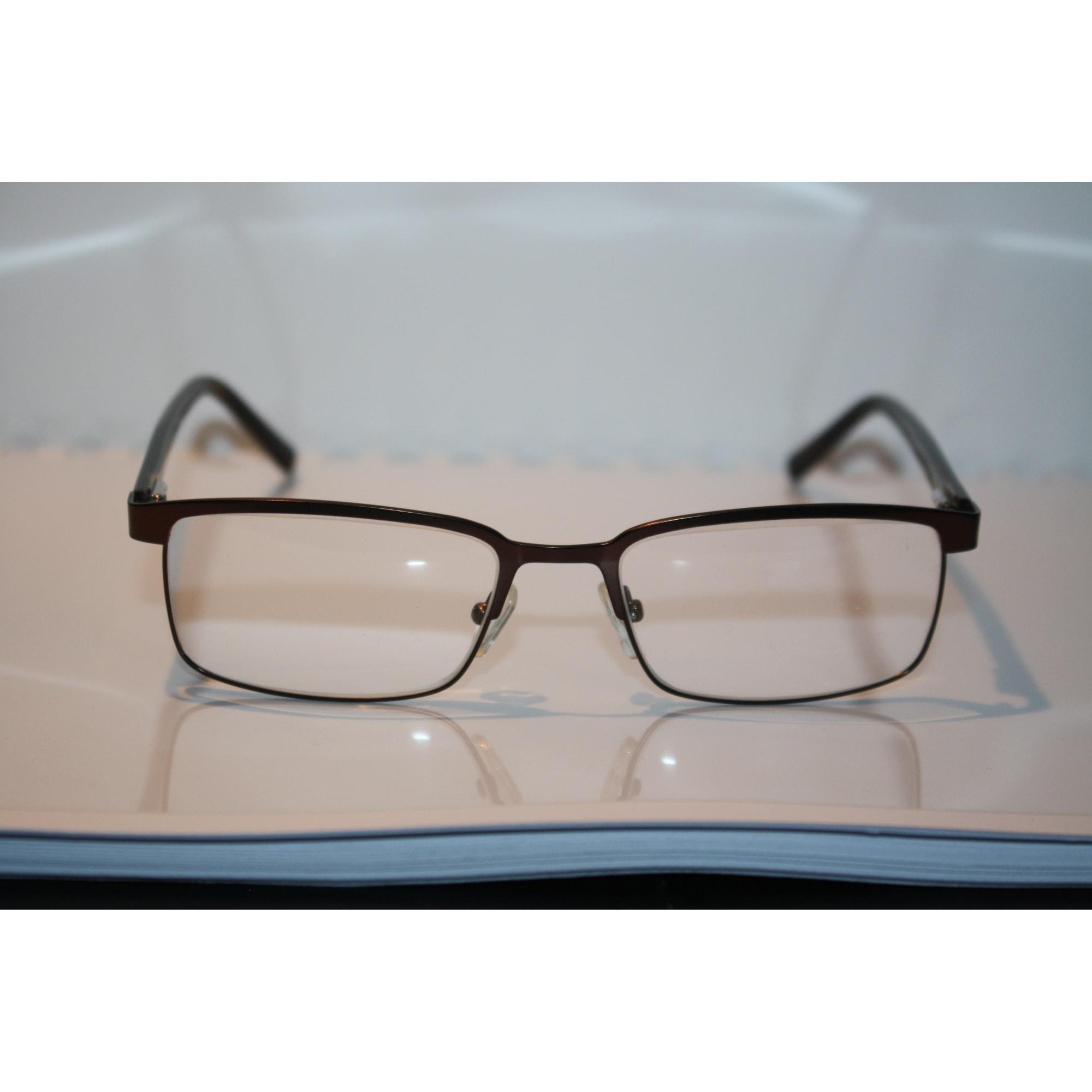 Eyeglass Frames MARQUE INCONNUE Golden, bronze, copper