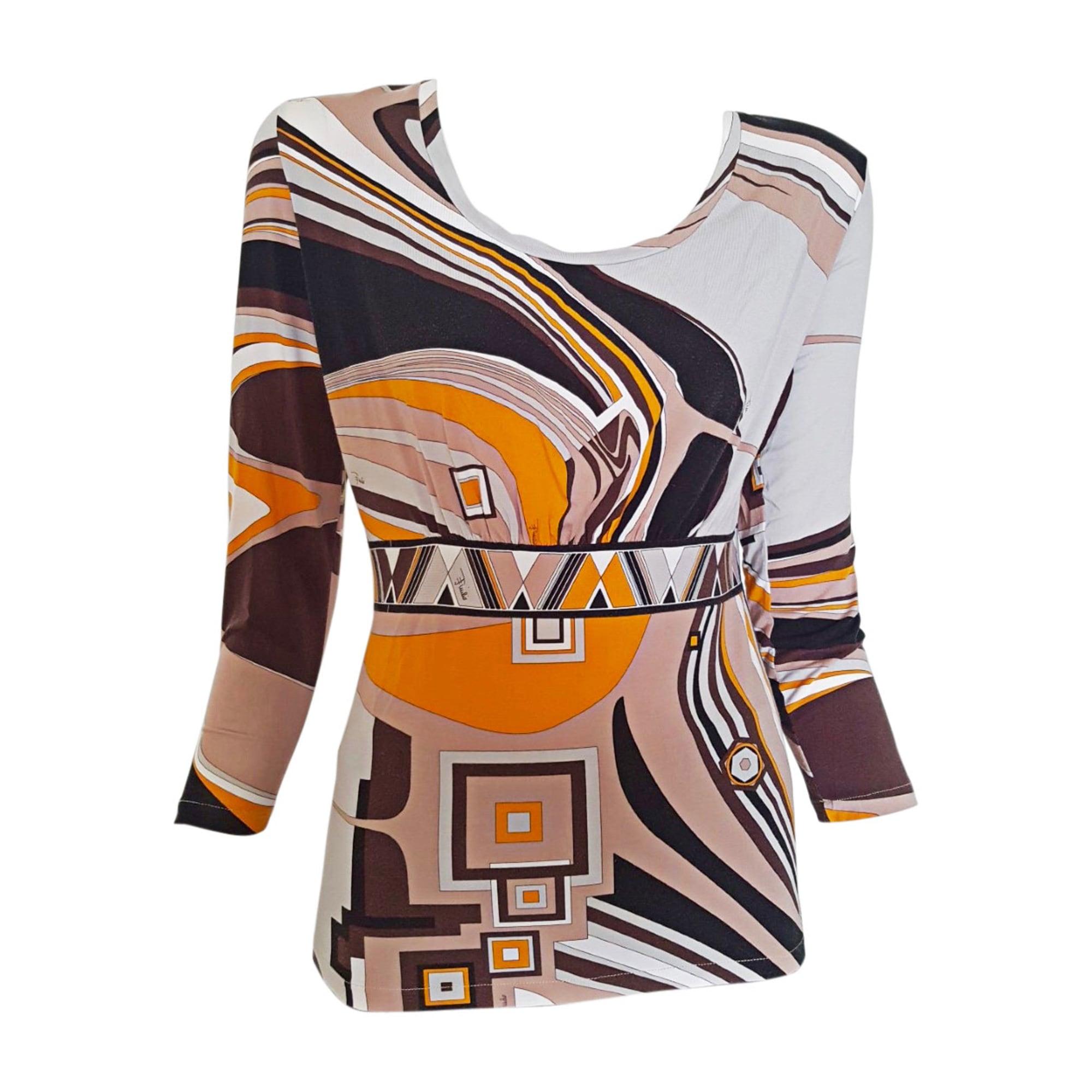 Top, tee-shirt EMILIO PUCCI Orange