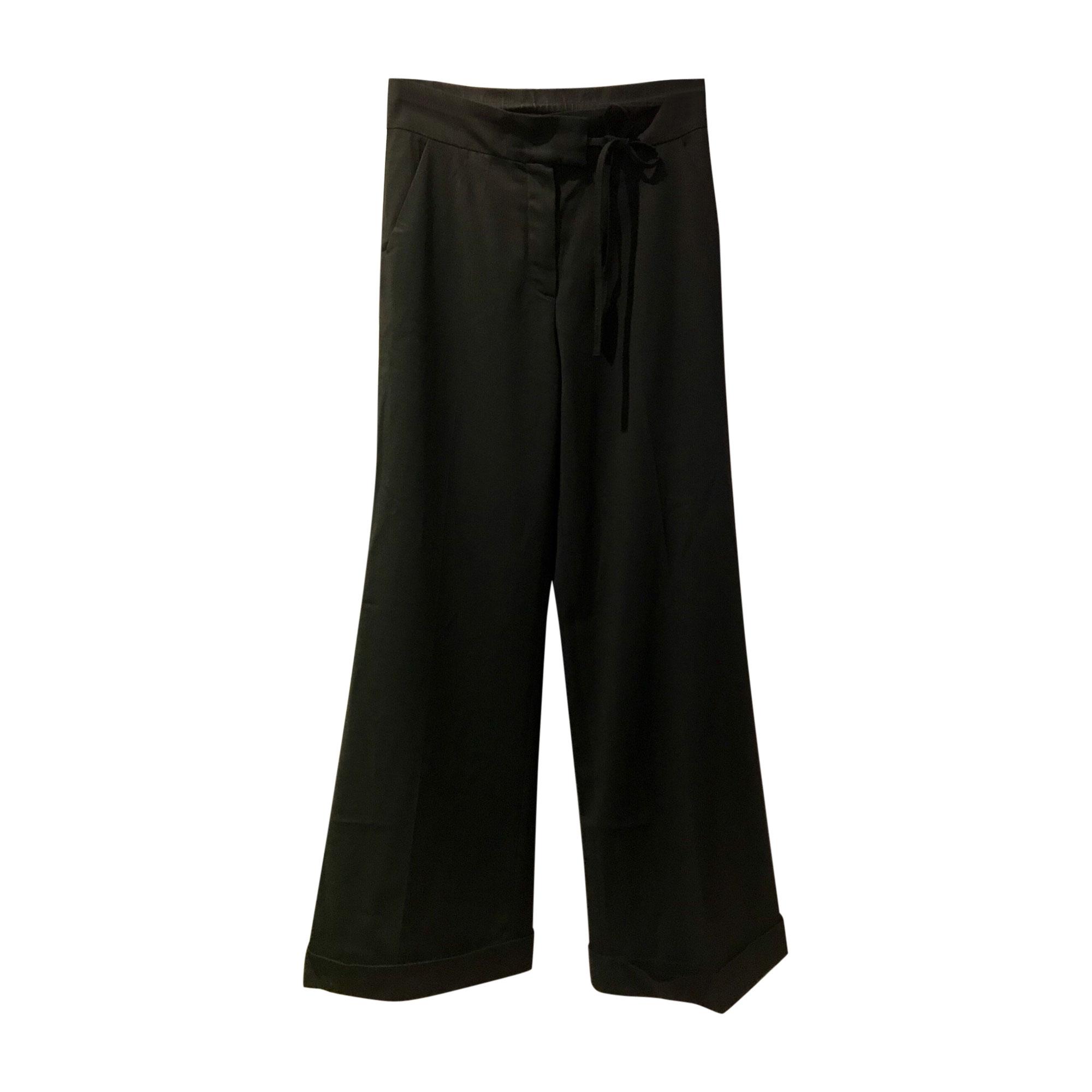 Pantalon large SONIA BY SONIA RYKIEL Noir