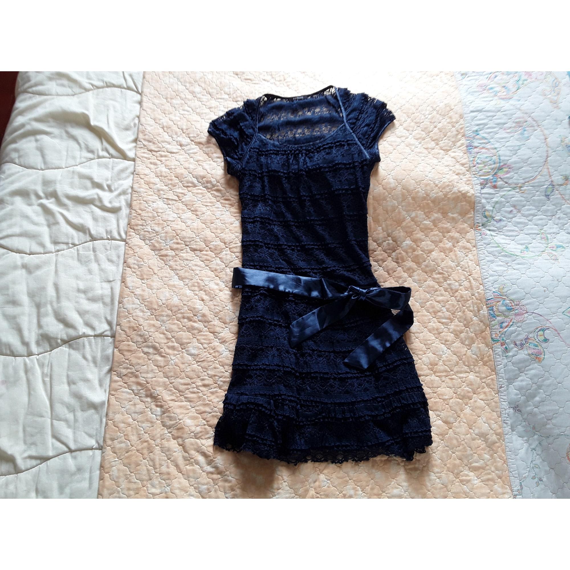 Robe courte MORGAN Bleu, bleu marine, bleu turquoise