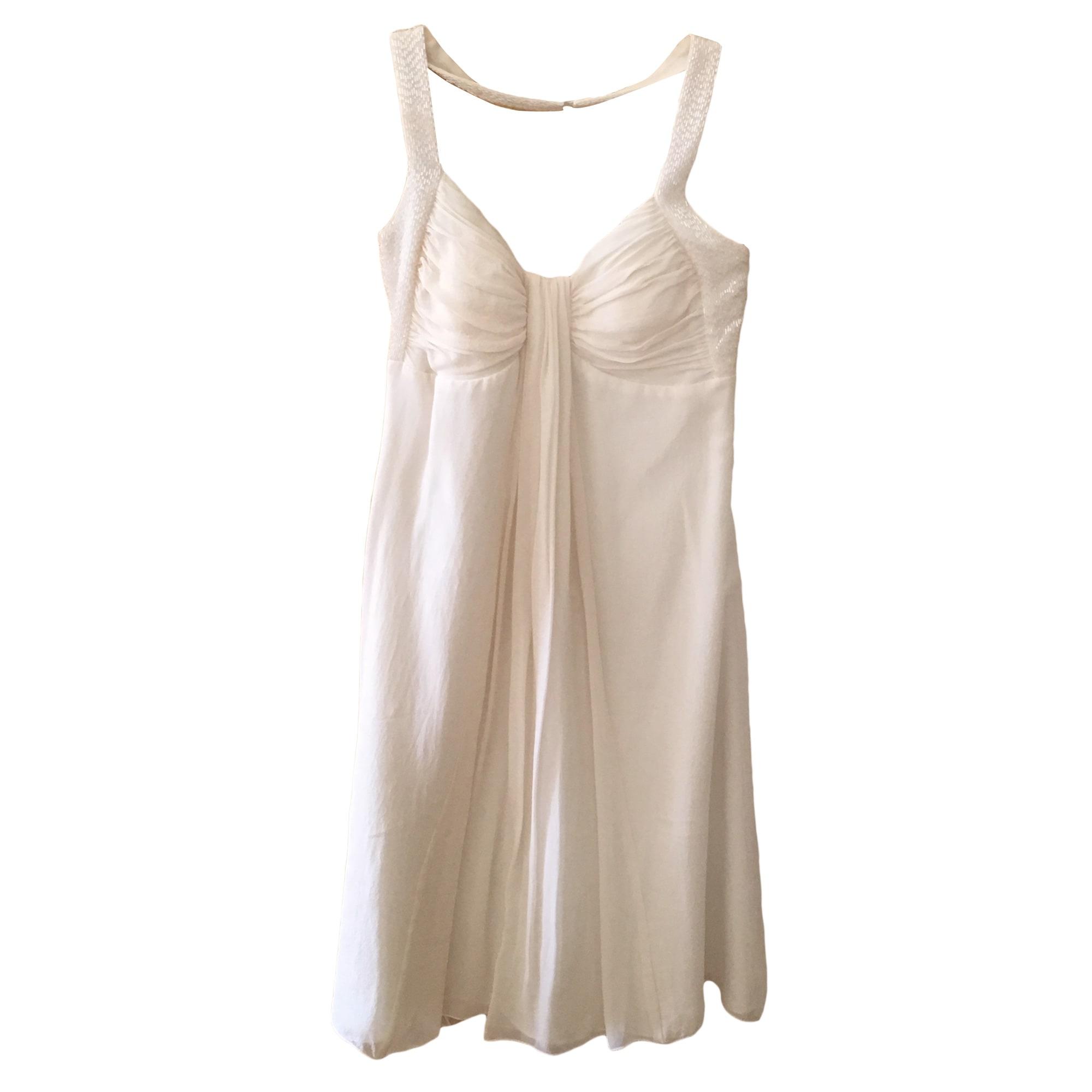 Robe mi-longue 1.2.3 Blanc, blanc cassé, écru