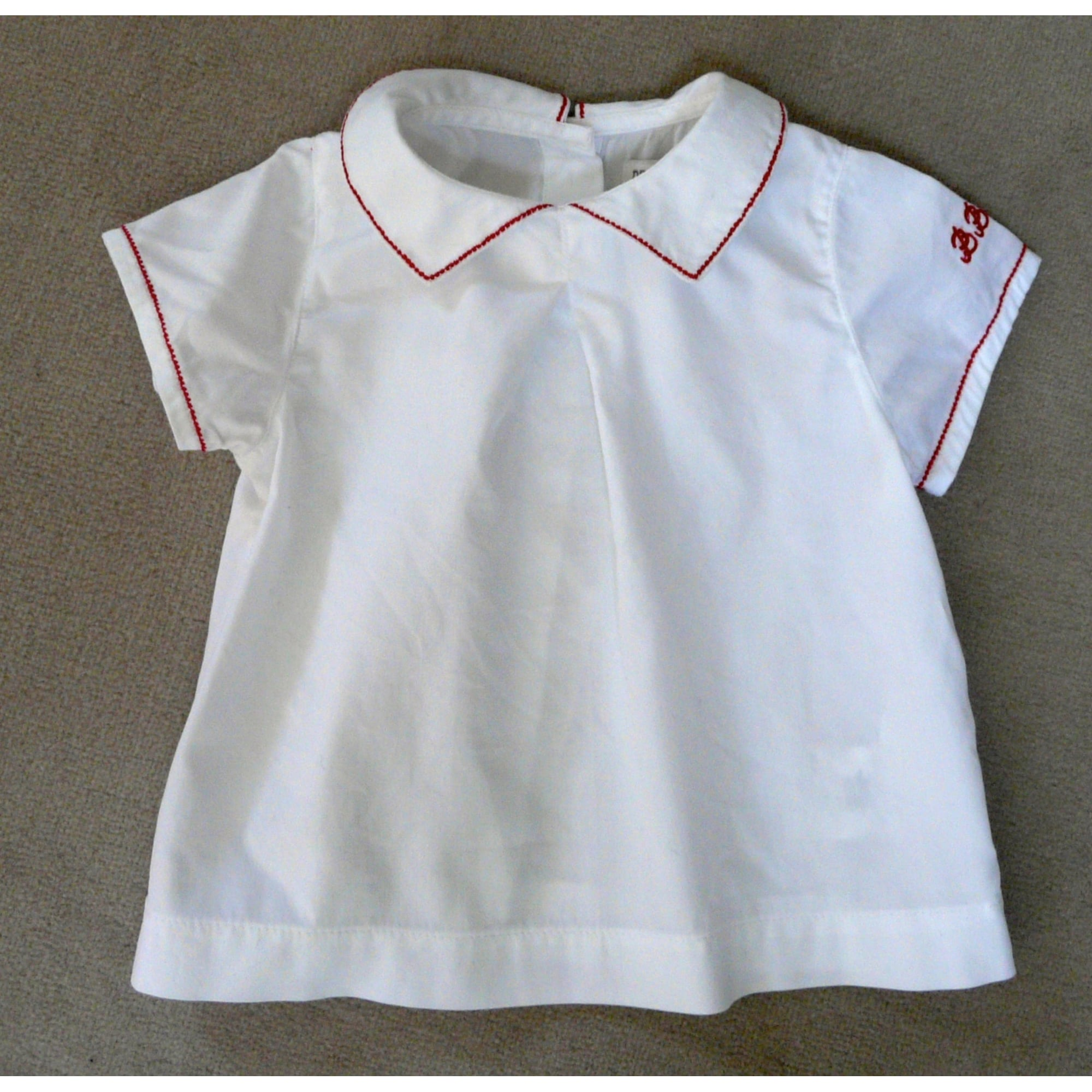 Chemisier, chemisette DU PAREIL AU MÊME DPAM Blanc, blanc cassé, écru