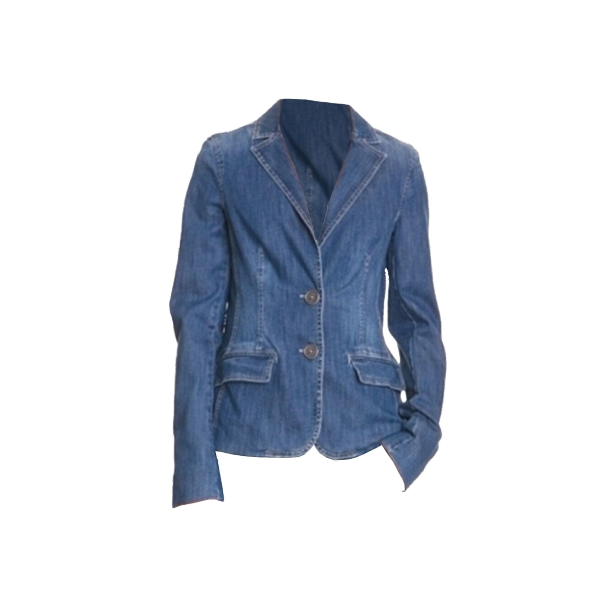 Veste en jean TOMMY HILFIGER Bleu, bleu marine, bleu turquoise