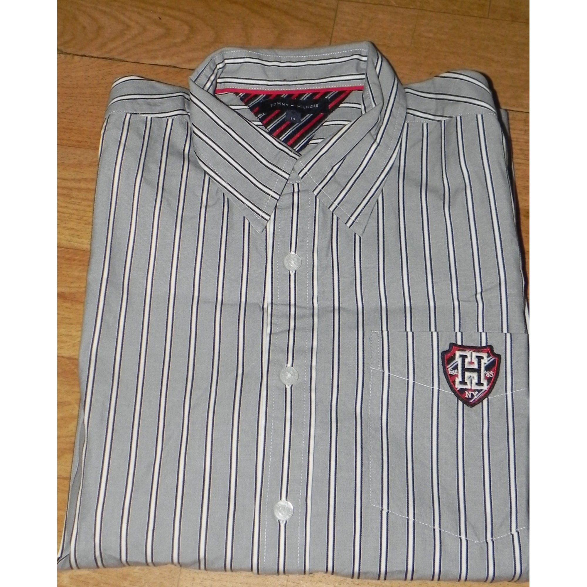 Chemise TOMMY HILFIGER Gris, anthracite