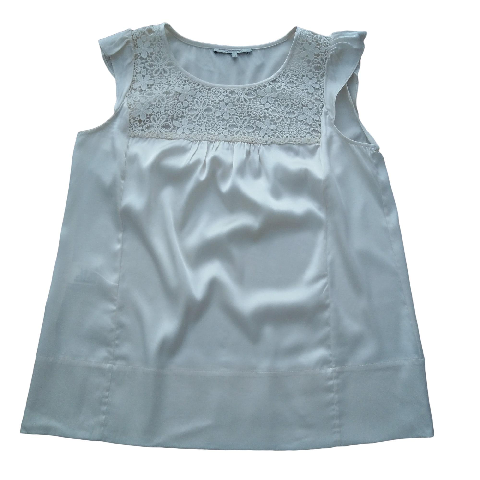 Top, tee-shirt GERARD DAREL Blanc, blanc cassé, écru