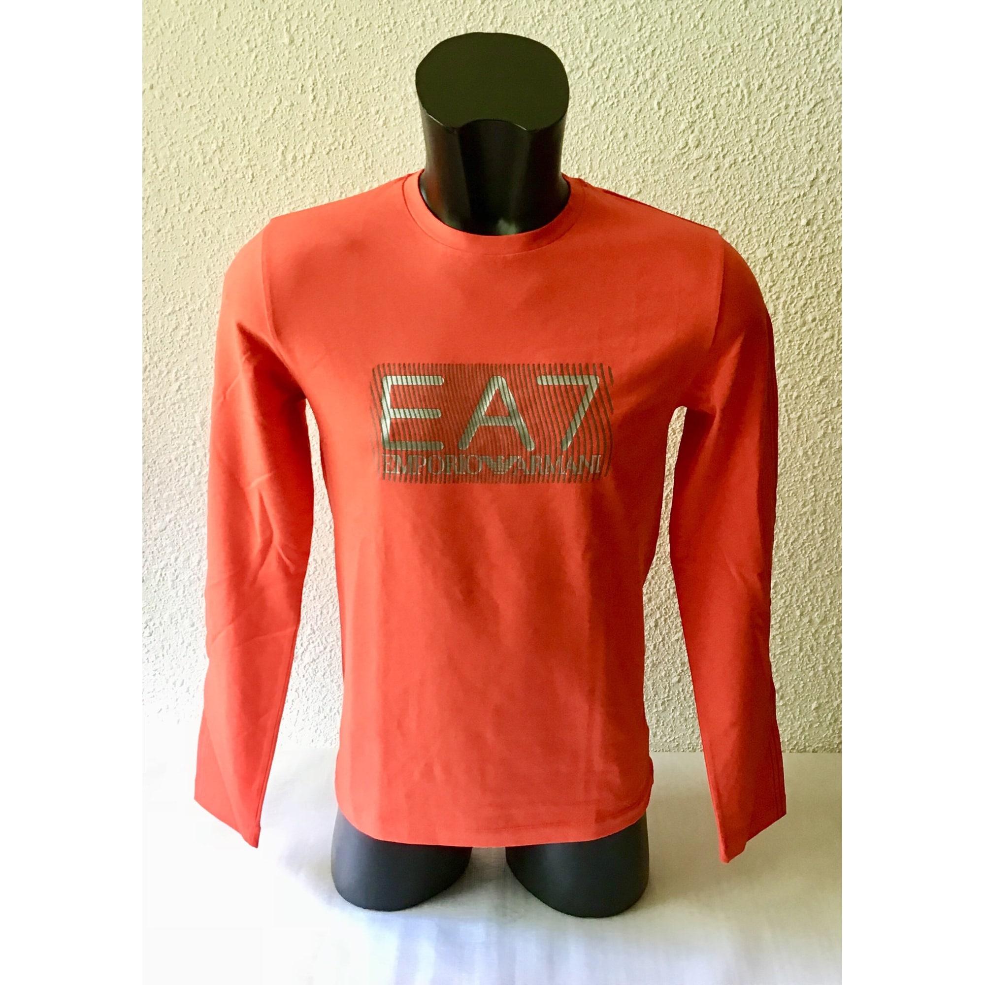 Tee-shirt ARMANI EA7 Orange