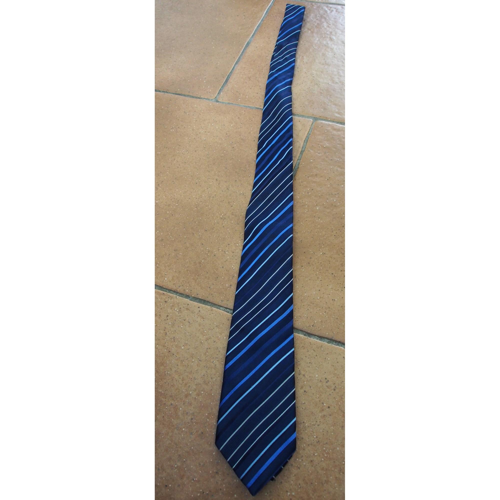 Cravate BRICE Bleu, bleu marine, bleu turquoise