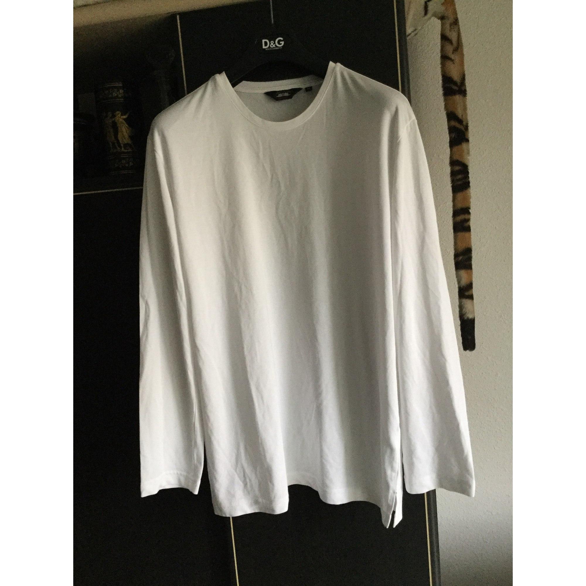 Tee-shirt MARQUE INCONNUE Blanc, blanc cassé, écru