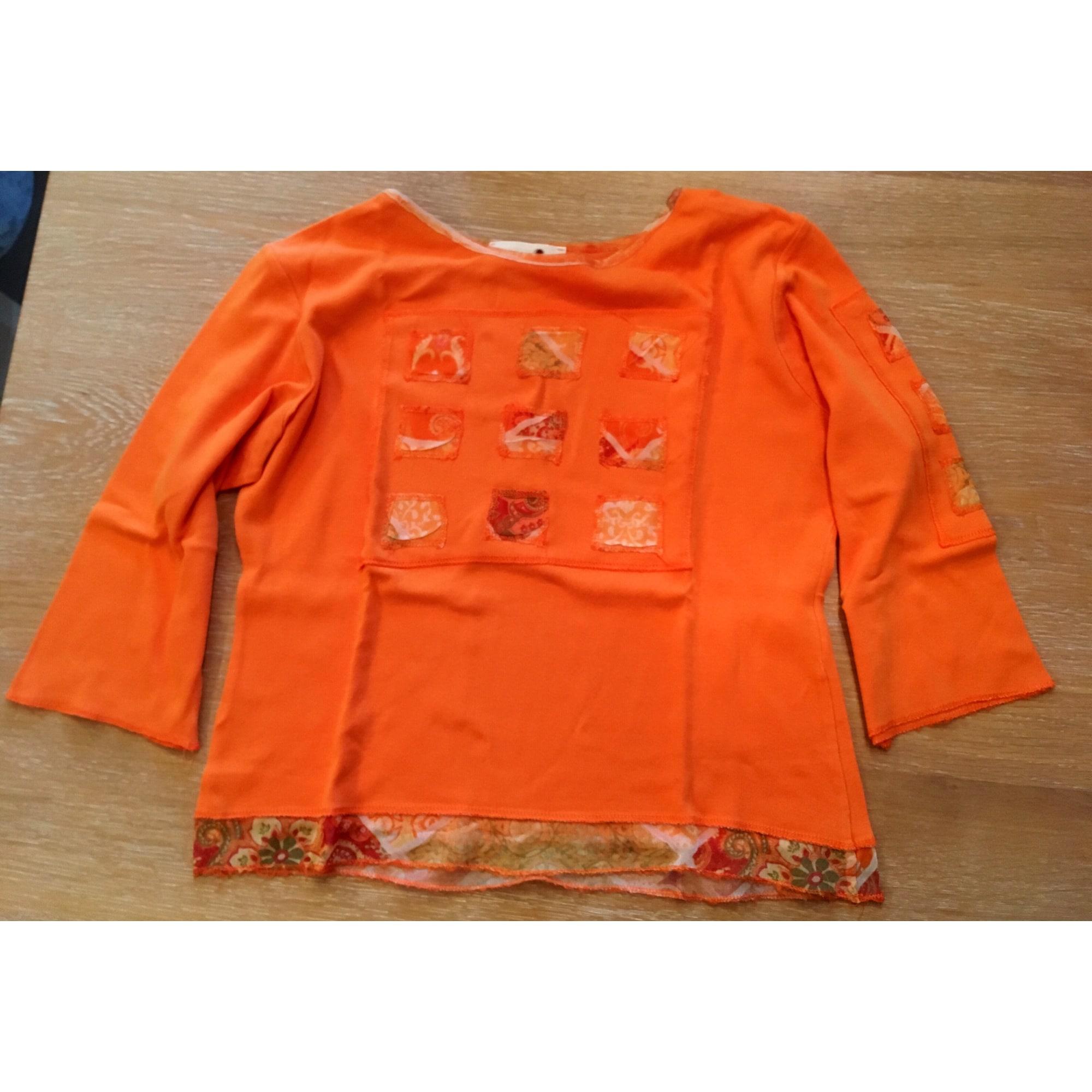 Top, tee-shirt BRÉAL Orange