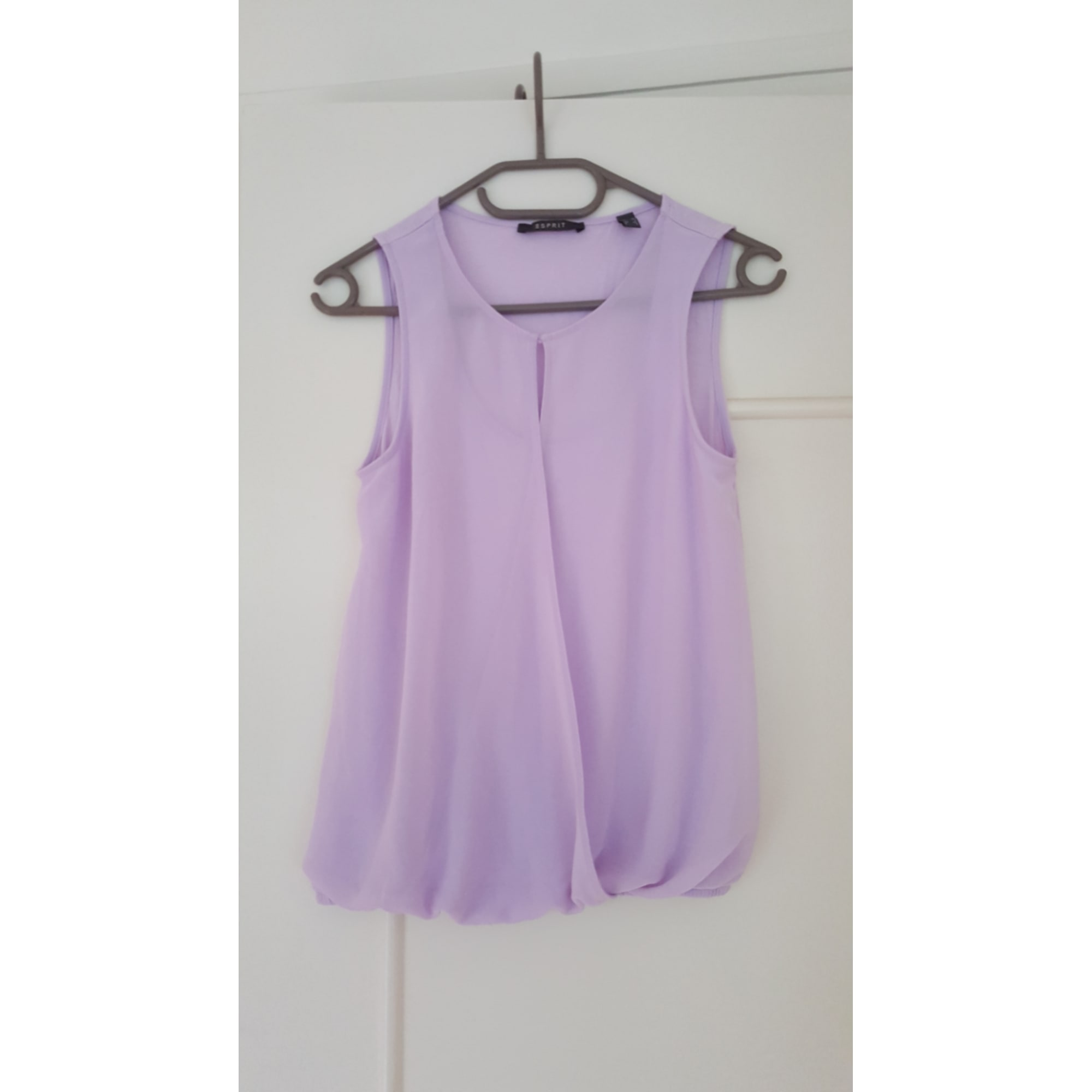 Top, tee-shirt ESPRIT Violet, mauve, lavande