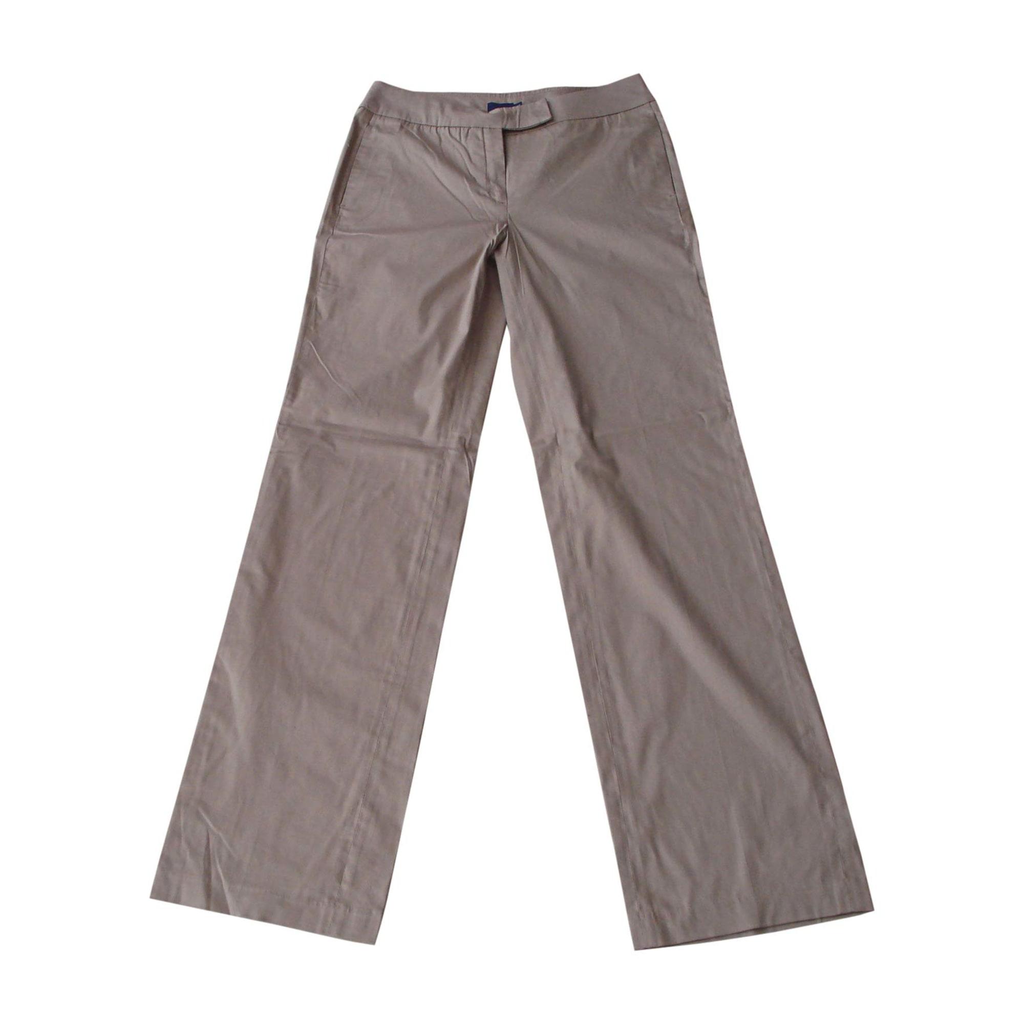 Pantalon droit MONCLER Beige, camel