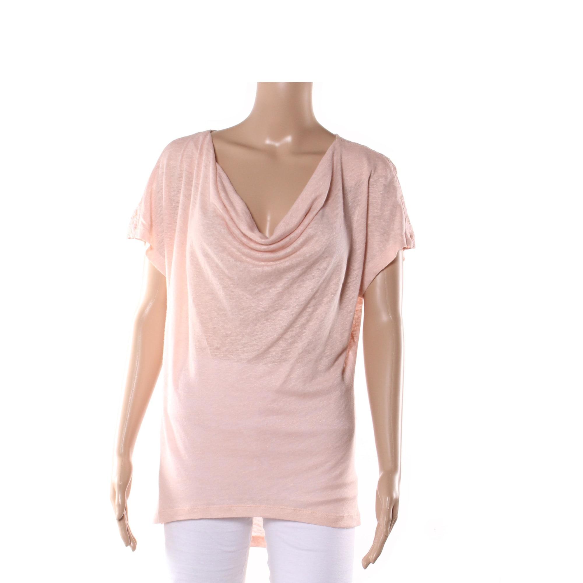 Top, tee-shirt CHATTAWAK Rose, fuschia, vieux rose