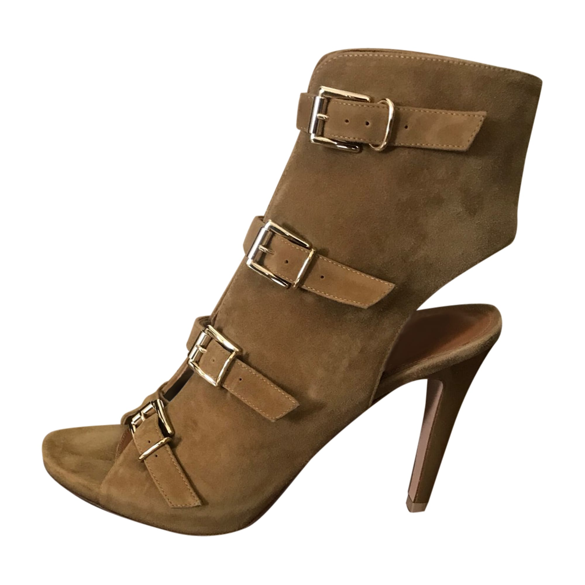 Sandales à talons GIANVITO ROSSI Beige, camel