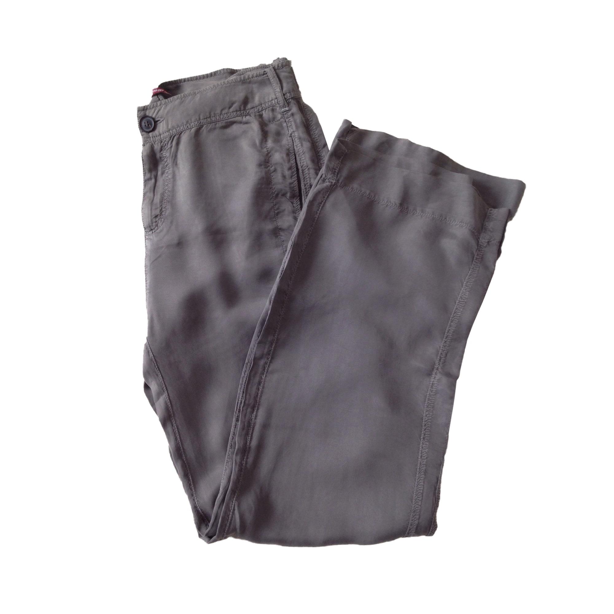 Pantalon large COMPTOIR DES COTONNIERS Kaki