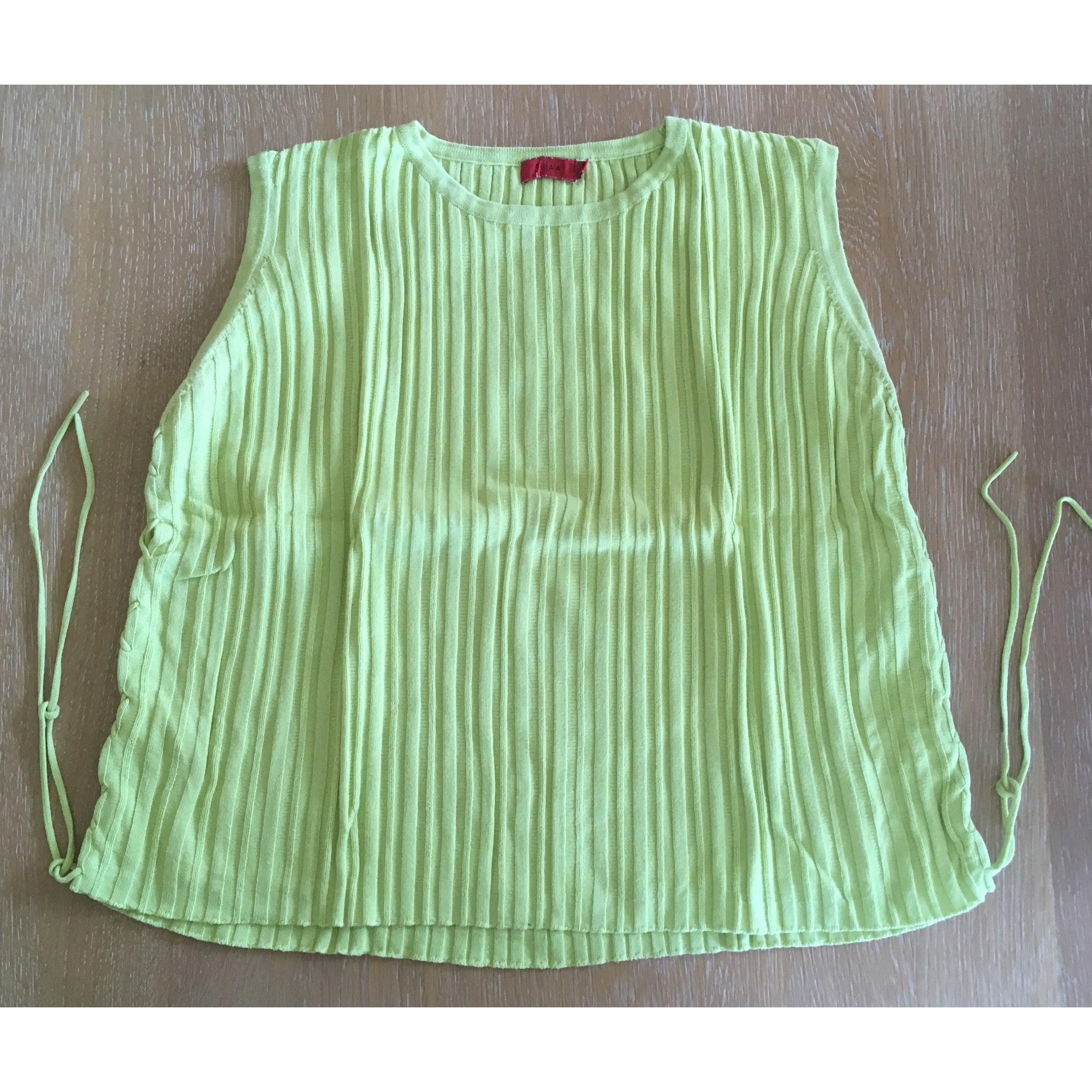 Top, tee-shirt TISSAIA Vert