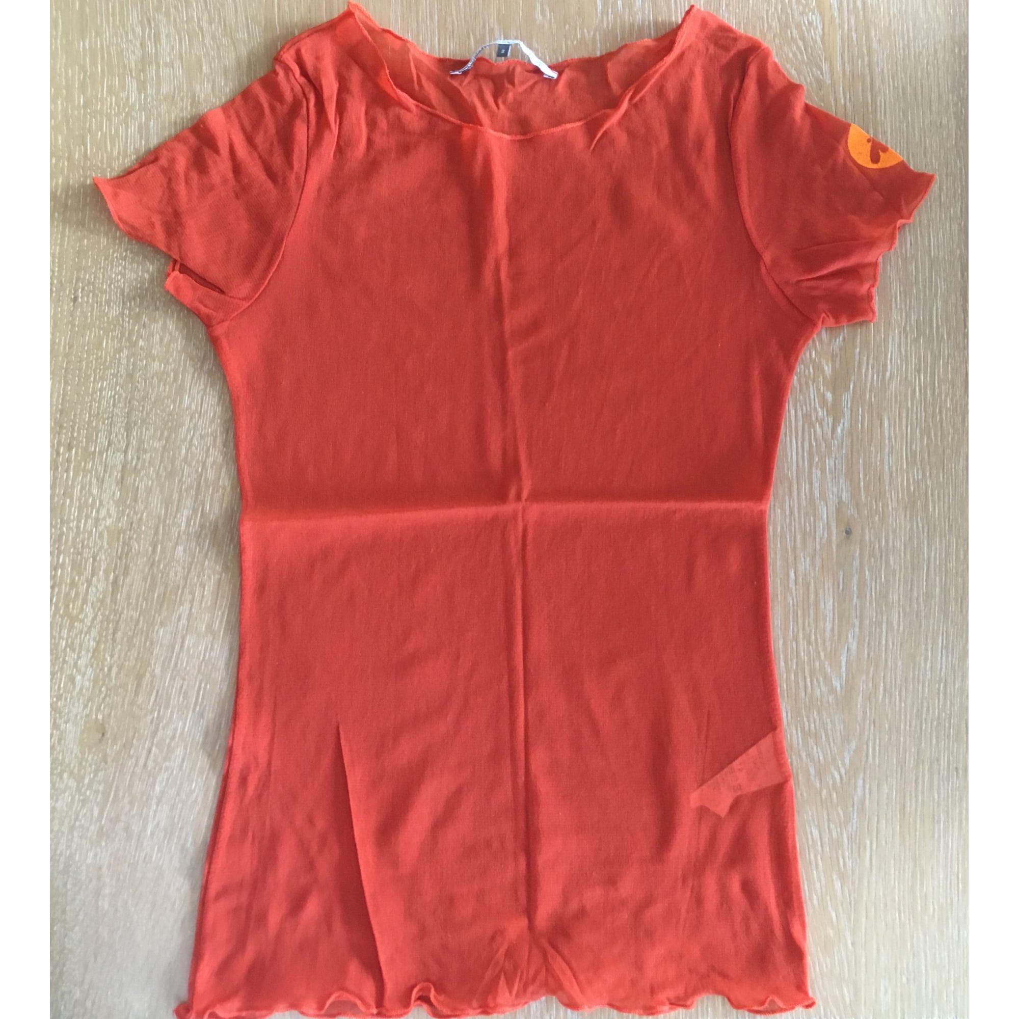 Top, tee-shirt LMV LA MODE EST À VOUS Orange