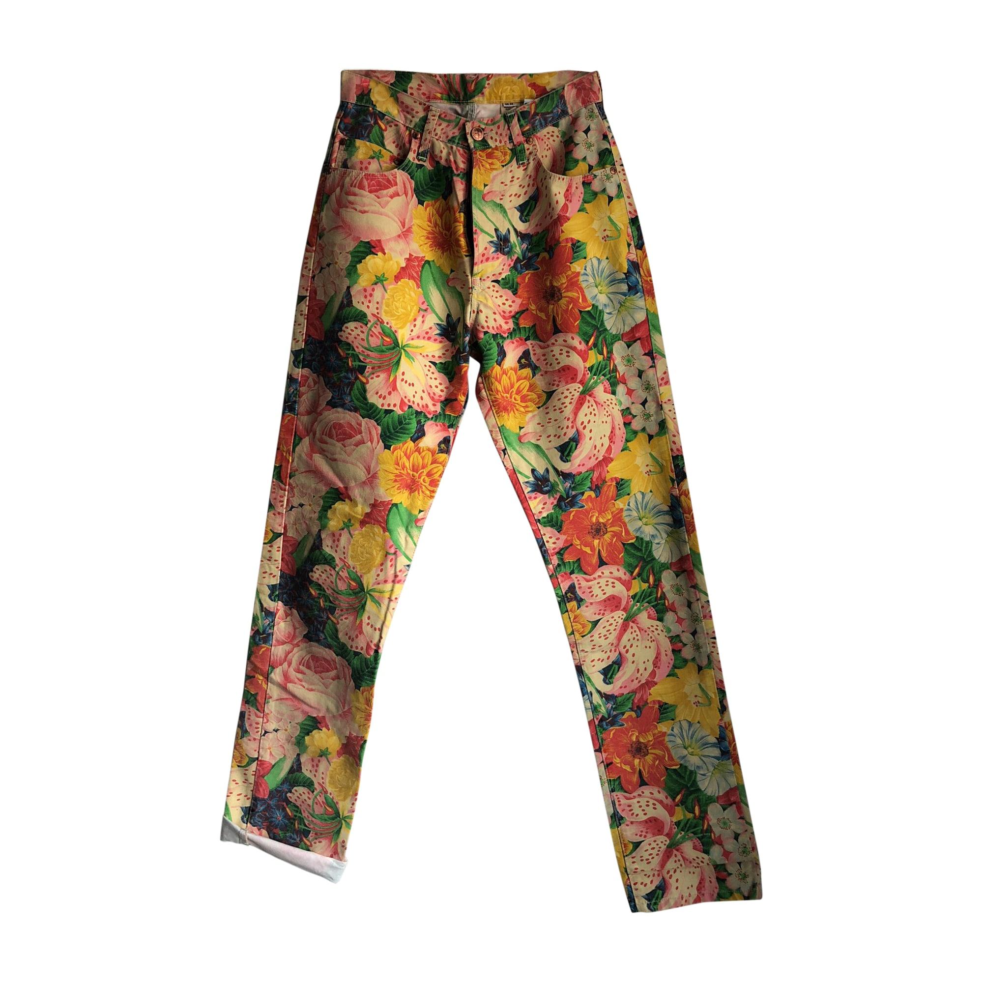 Jeans droit KENZO Multicouleur