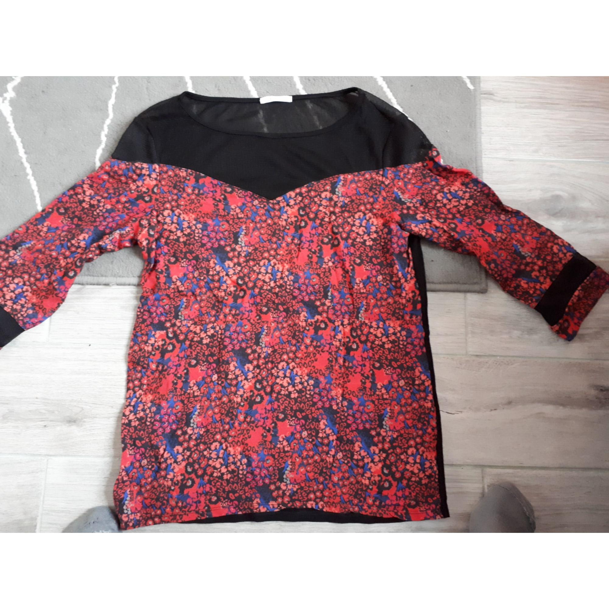 Top, tee-shirt CAMAIEU Multicouleur
