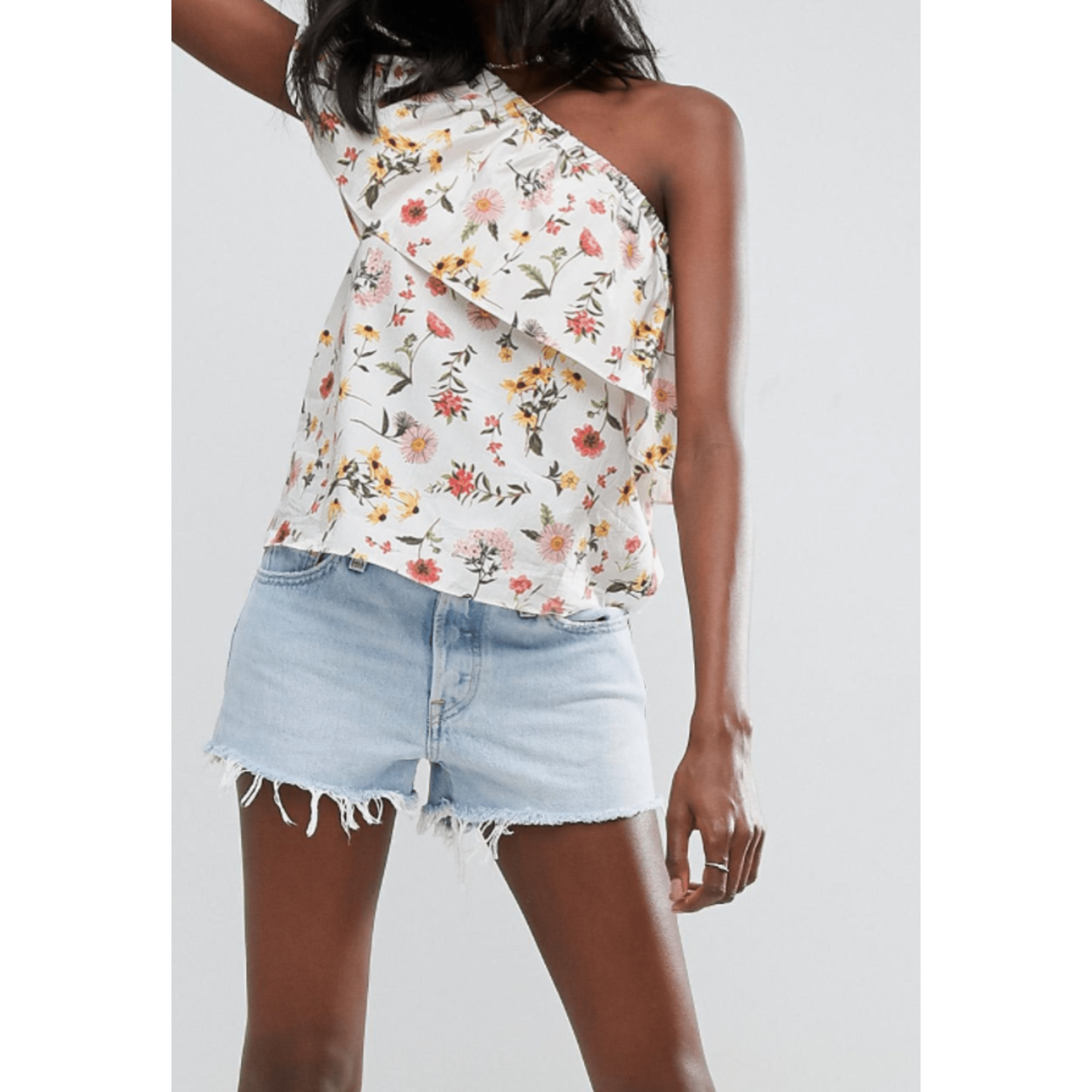 Top, tee-shirt ASOS Multicouleur