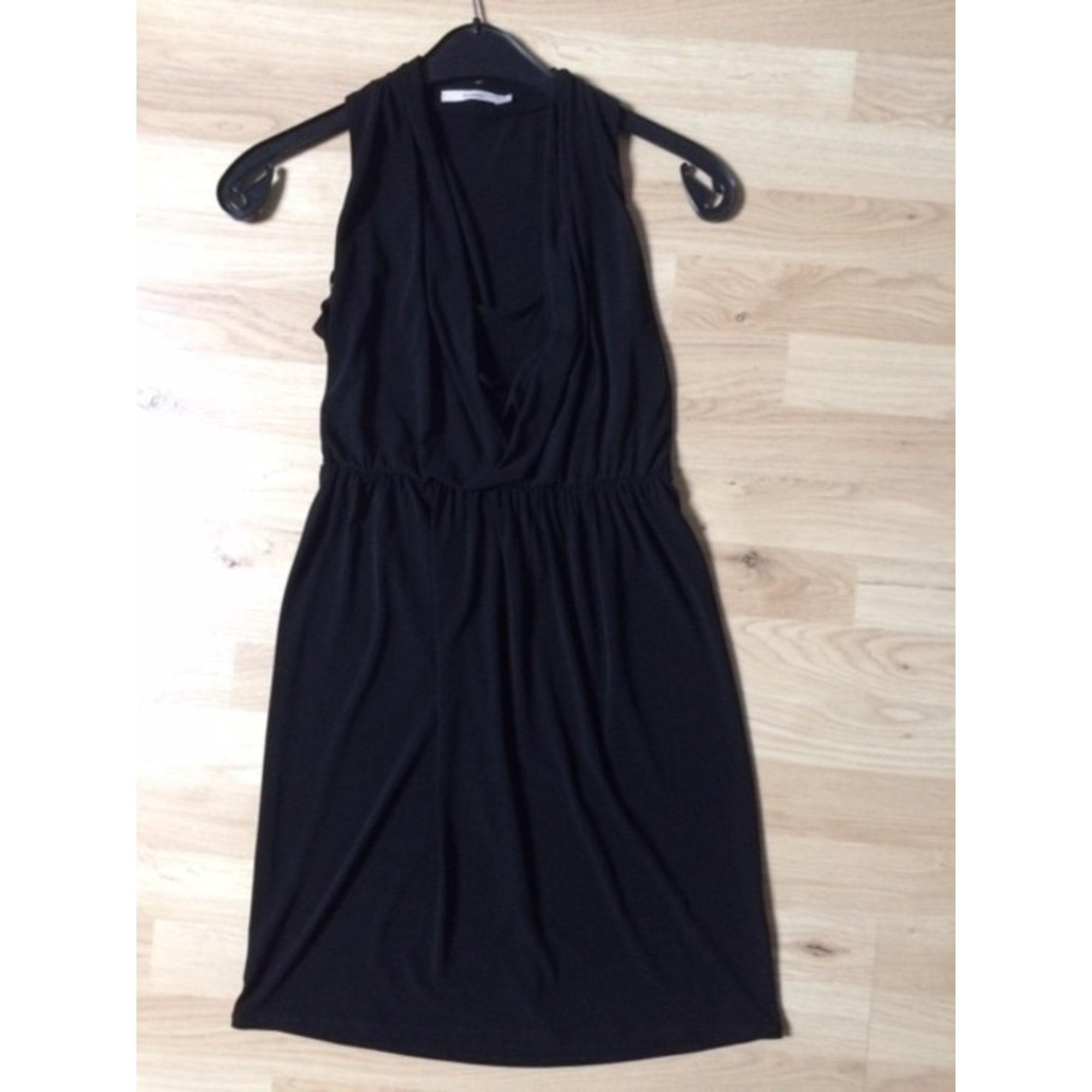 Robe mi-longue ALAIN MANOUKIAN Noir