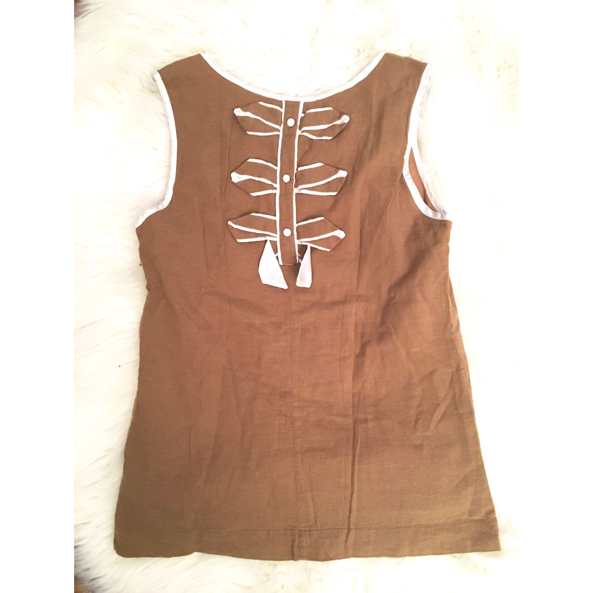 Top, tee-shirt CLAUDIE PIERLOT Beige, camel