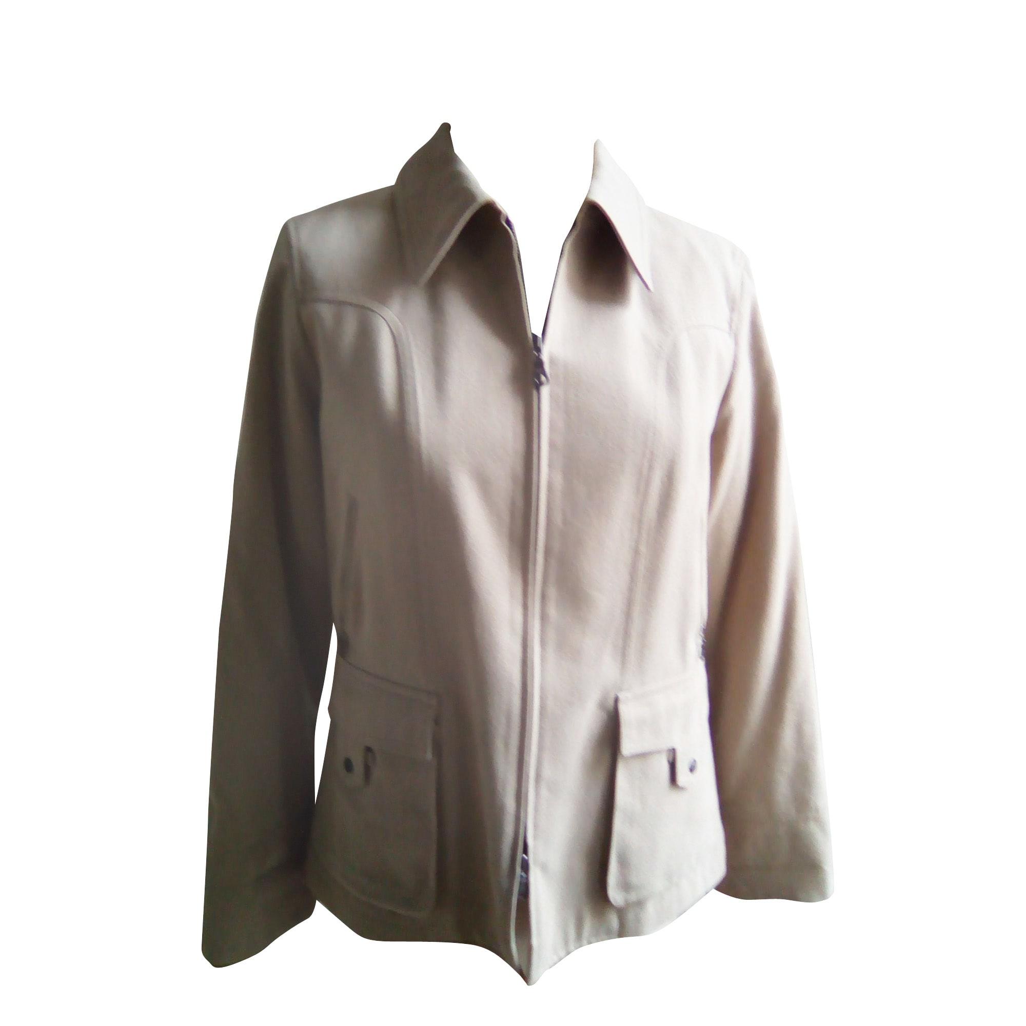 Veste ALAIN MANOUKIAN Blanc, blanc cassé, écru