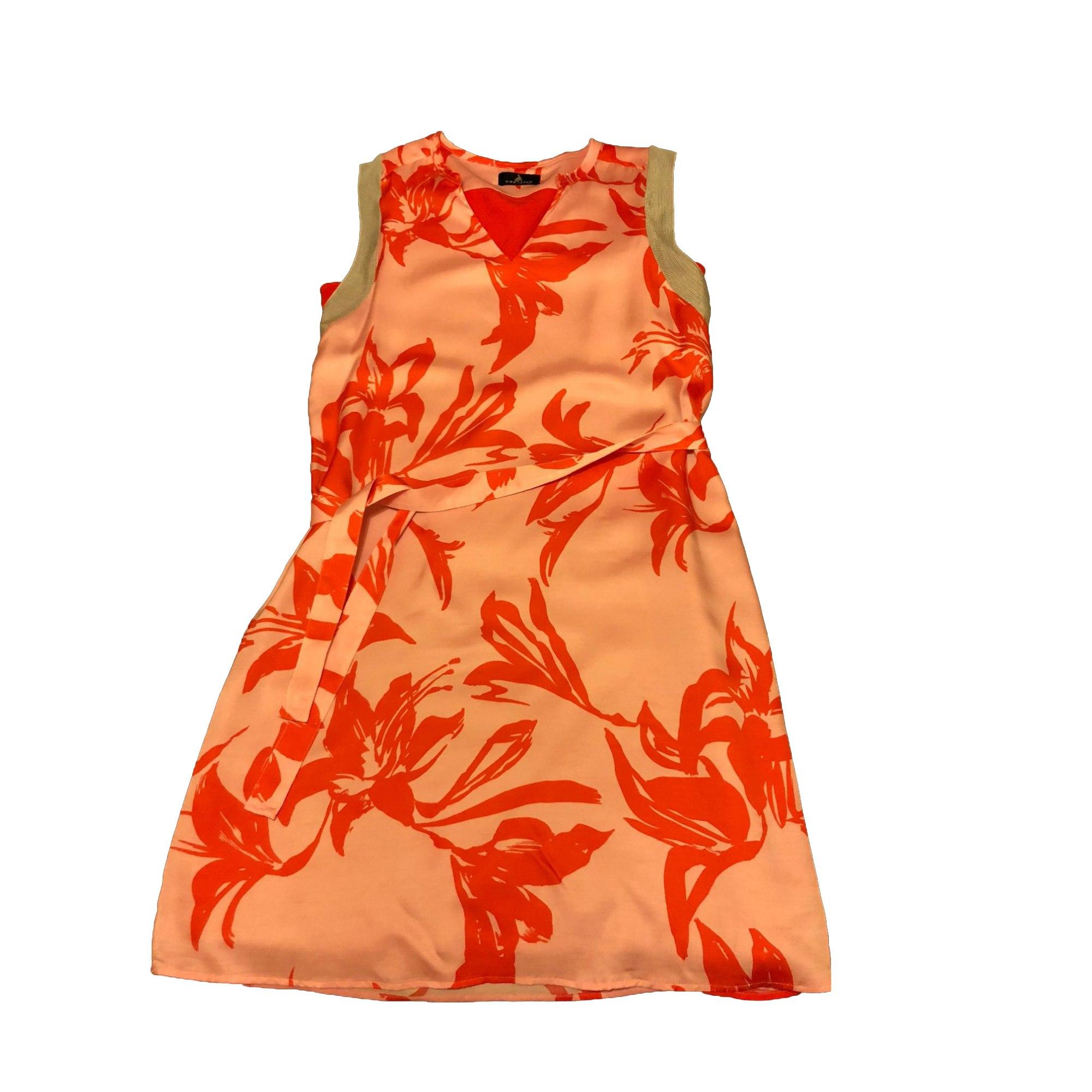 Robe courte ONE STEP Orange