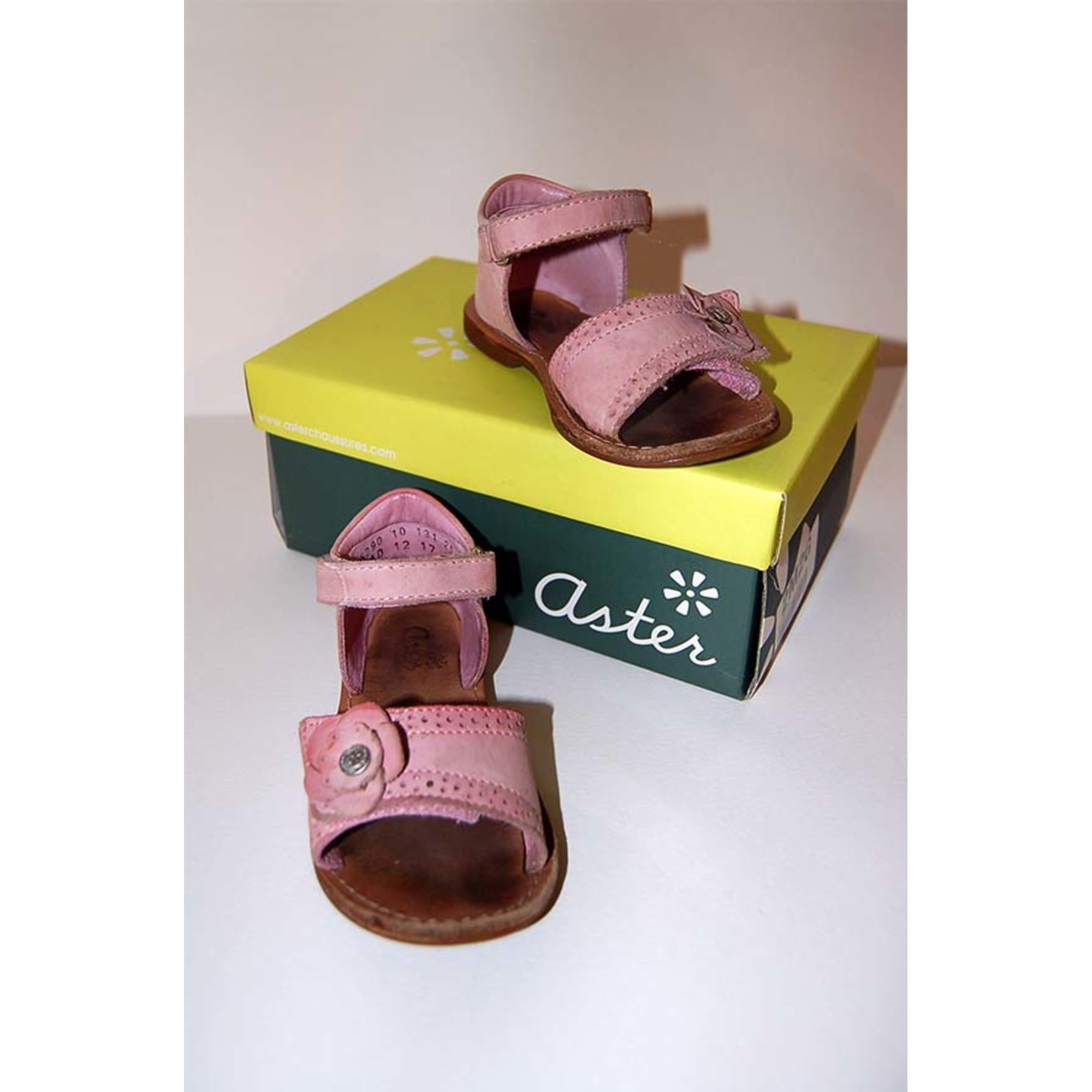 Sandals ASTER Pink, fuchsia, light pink