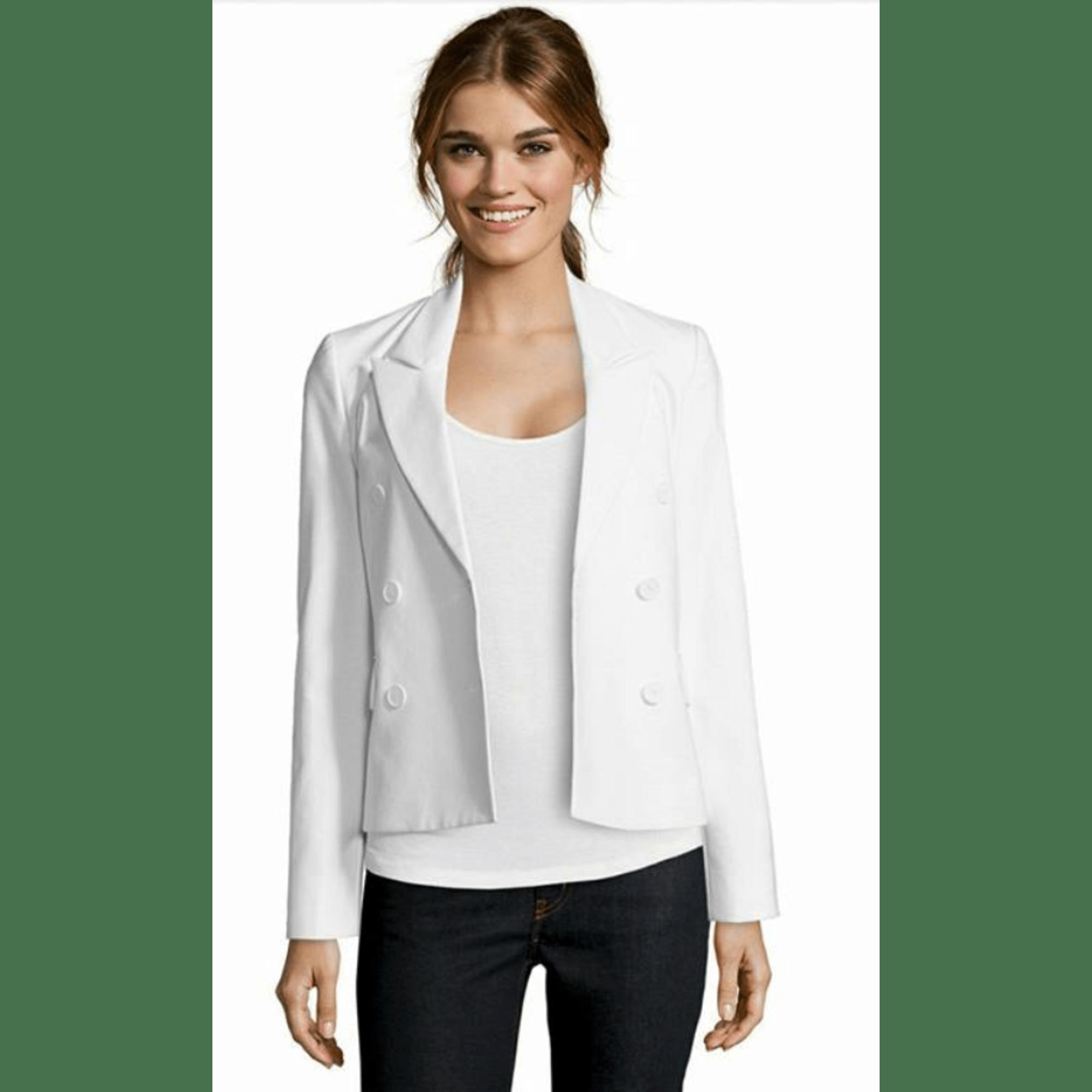 Blazer, veste tailleur STEFANEL Blanc, blanc cassé, écru