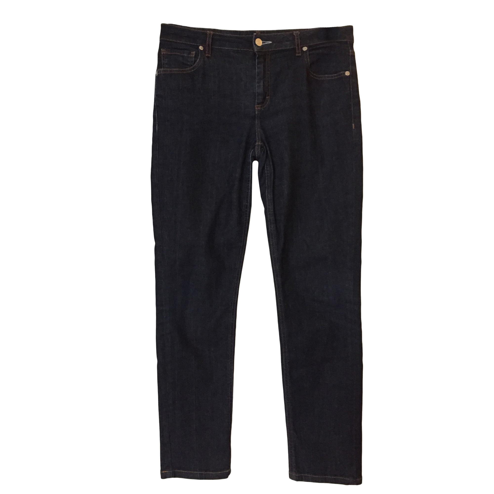 Jeans slim LACOSTE Bleu, bleu marine, bleu turquoise