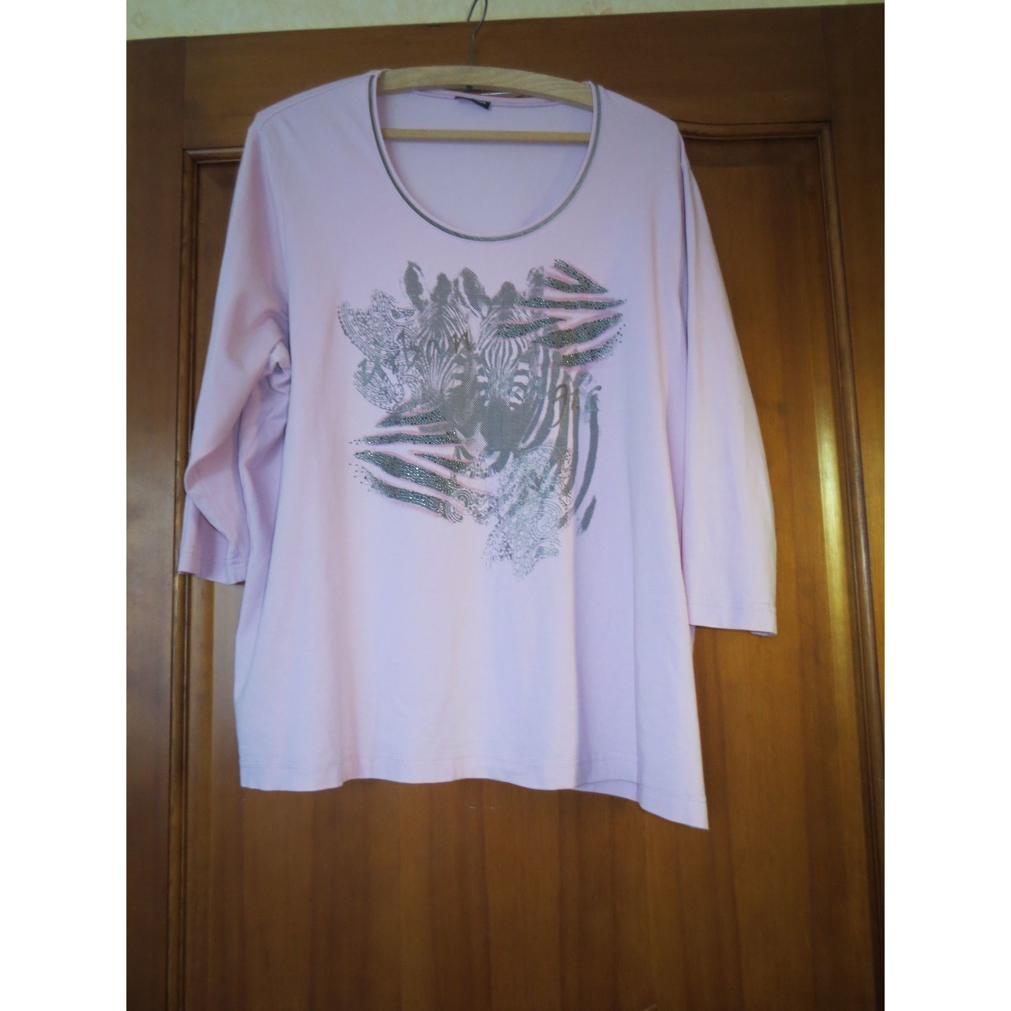 Top, tee-shirt GERRY WEBER Rose, fuschia, vieux rose
