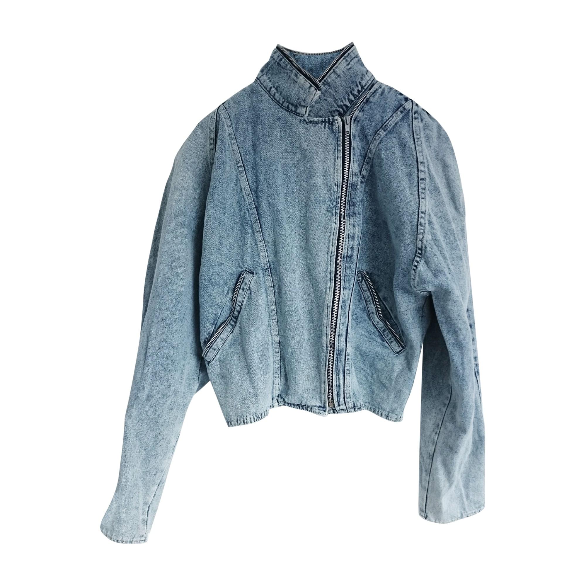 Veste en jean RALPH LAUREN Bleu, bleu marine, bleu turquoise