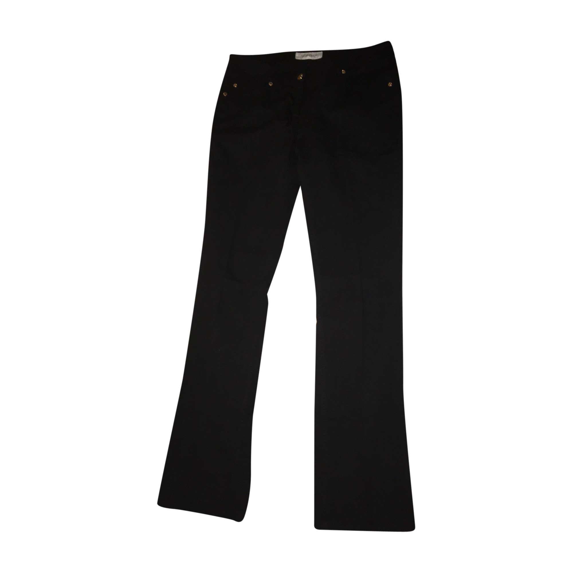 Jeans évasé, boot-cut YVES SAINT LAURENT Noir
