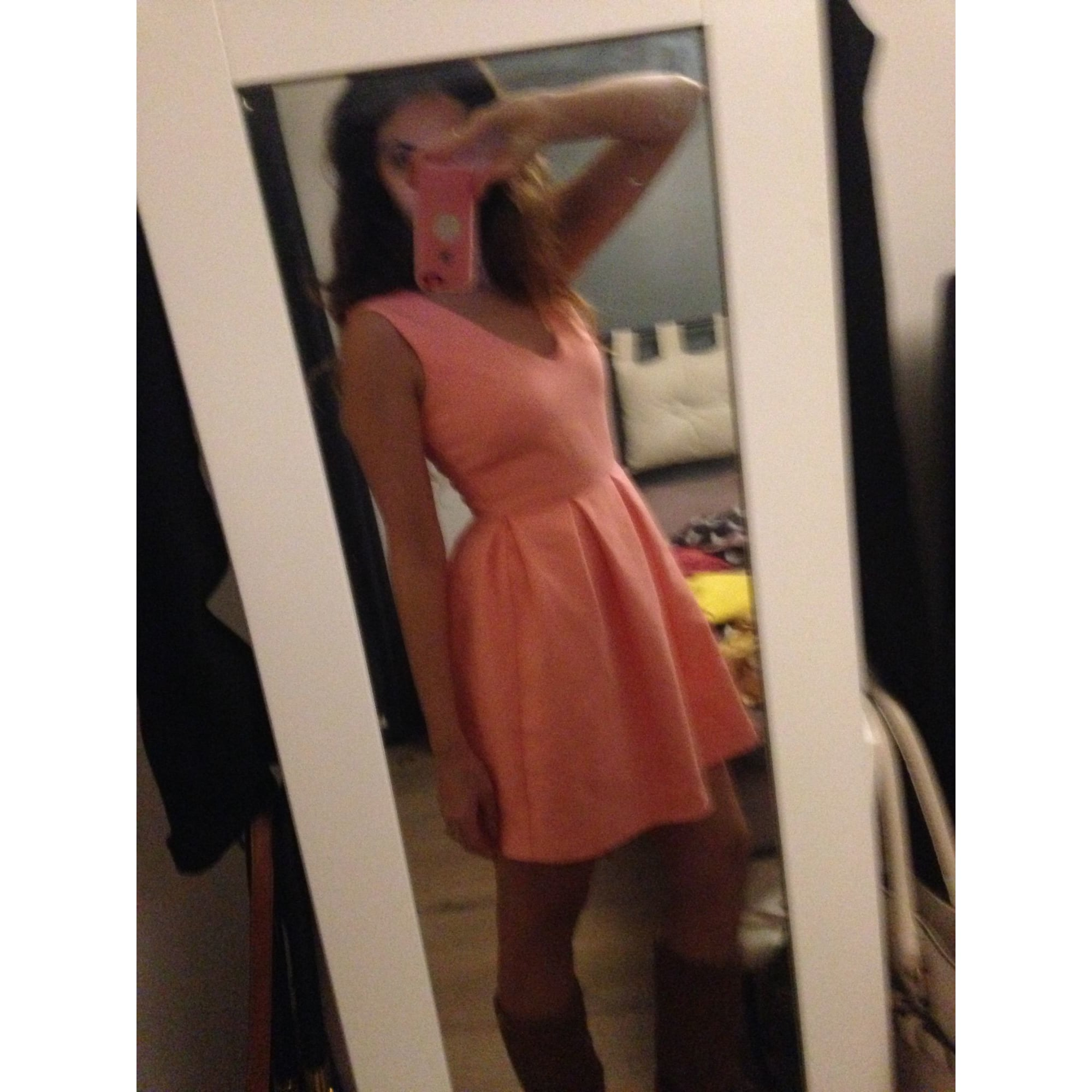 Robe courte ASOS Orange