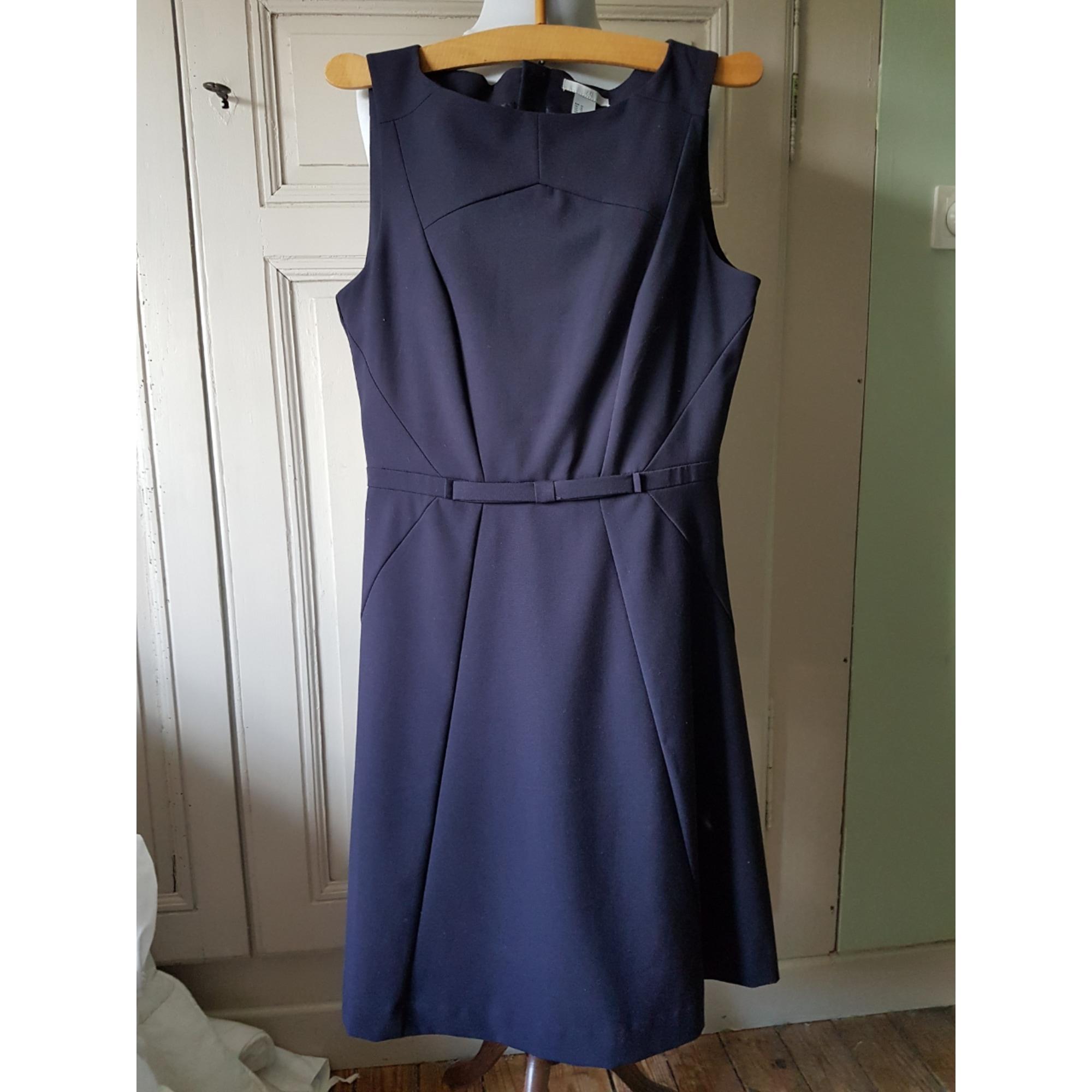 Robe mi-longue H&M Bleu, bleu marine, bleu turquoise