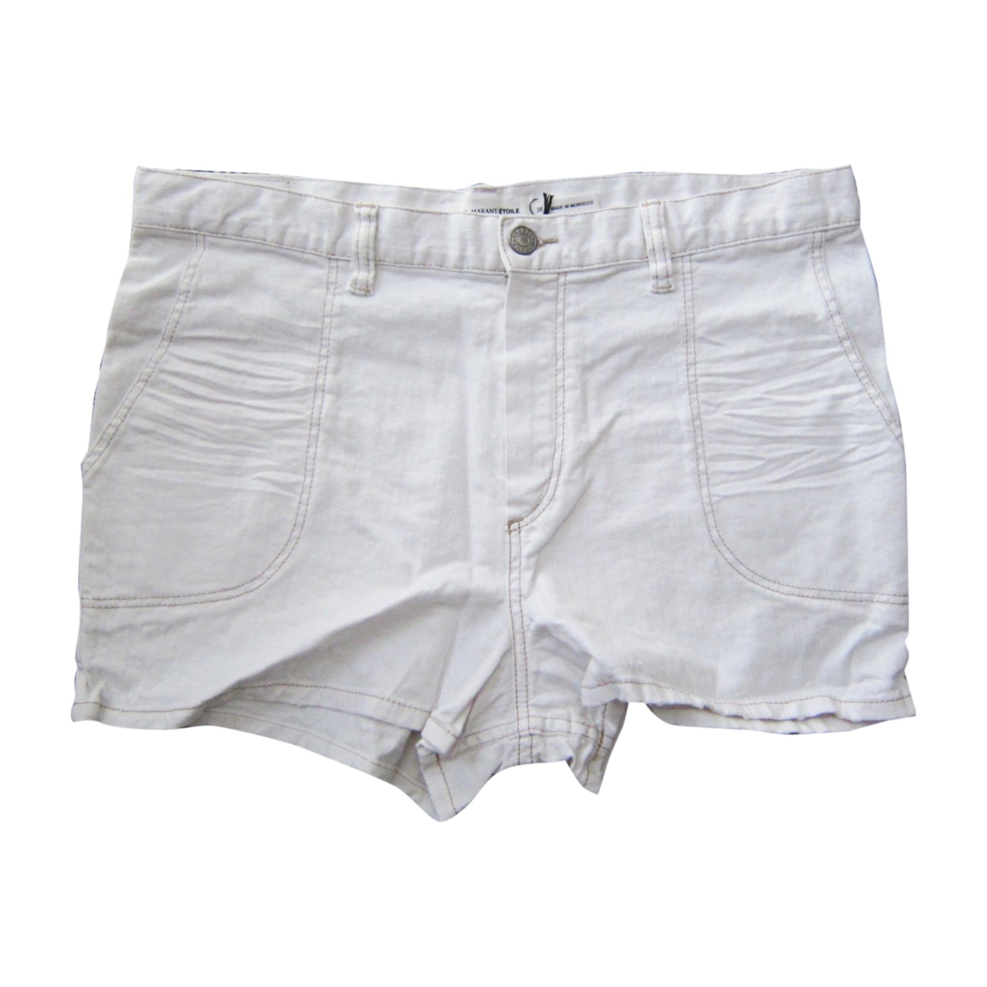 Short ISABEL MARANT Blanc, blanc cassé, écru