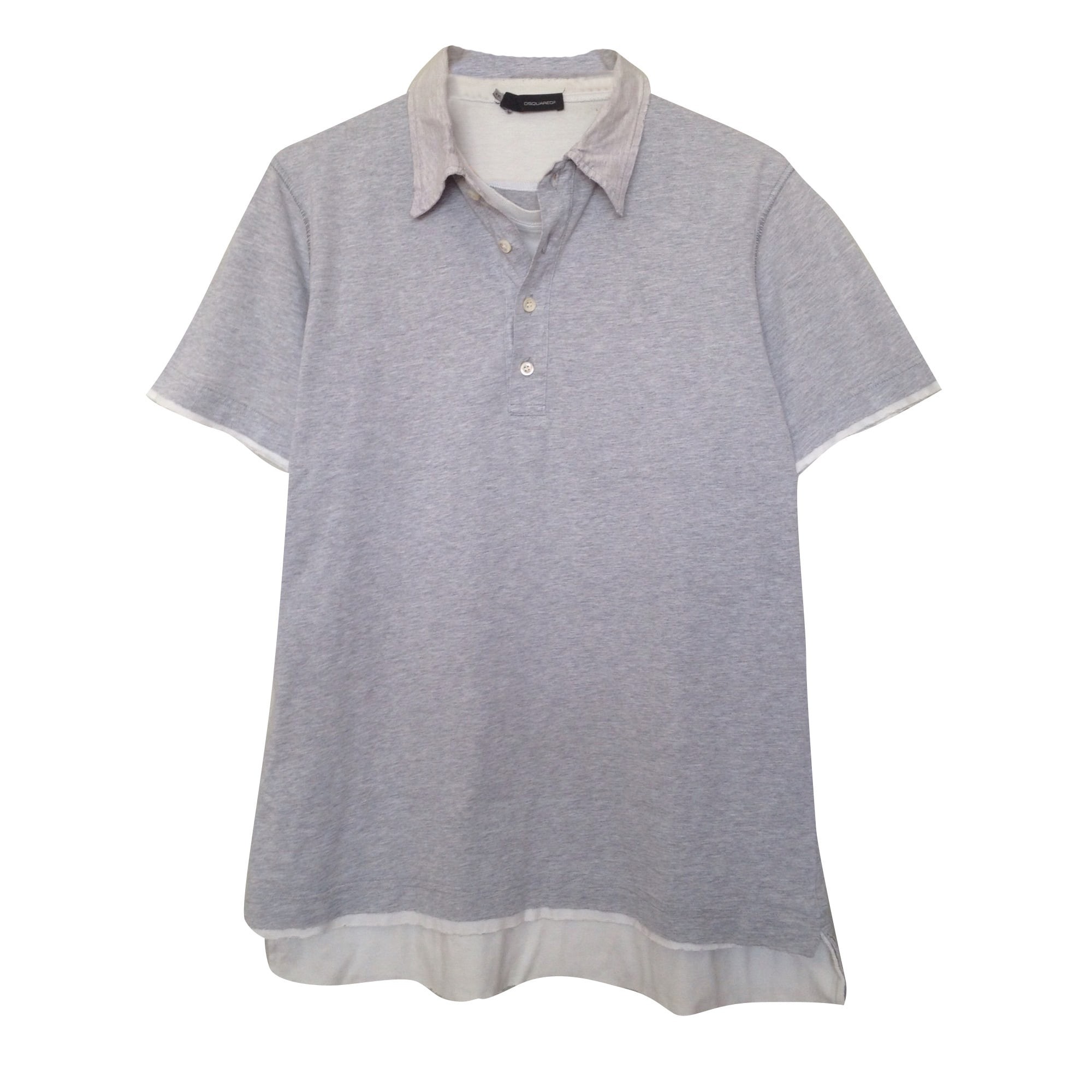 Polo DSQUARED2 Gris, anthracite
