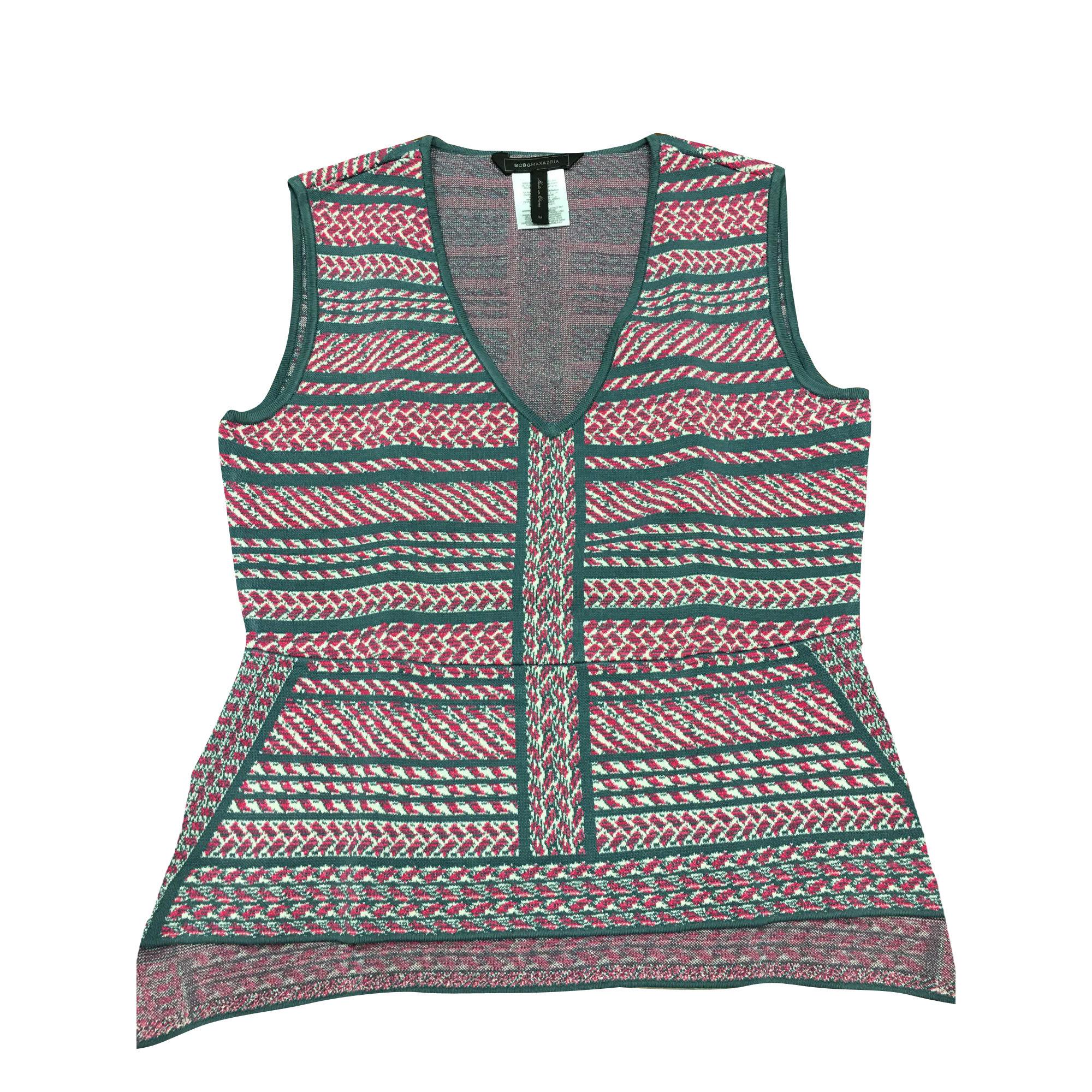 Top, tee-shirt BCBG MAX AZRIA Multicouleur