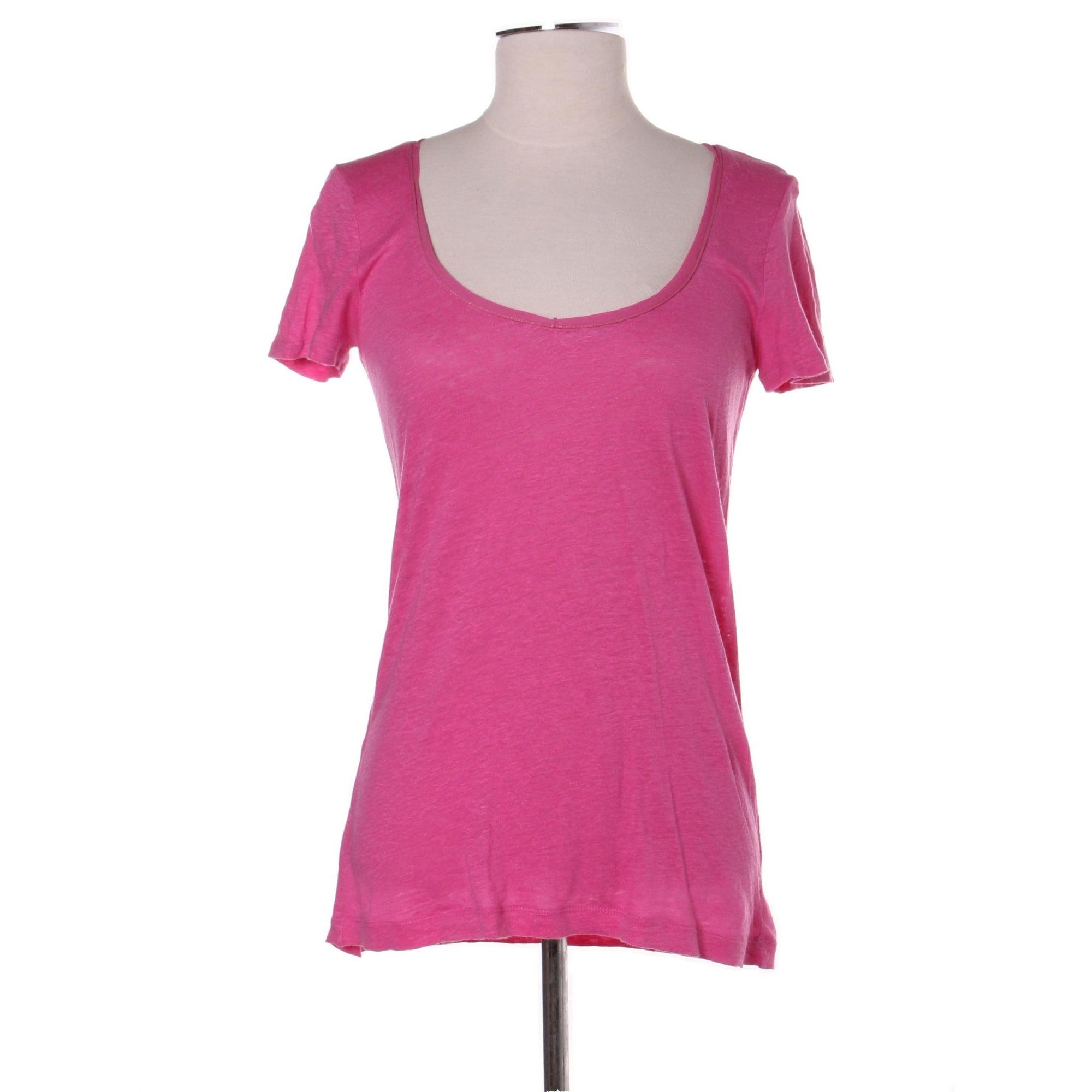 Top, tee-shirt COMPTOIR DES COTONNIERS Rose, fuschia, vieux rose