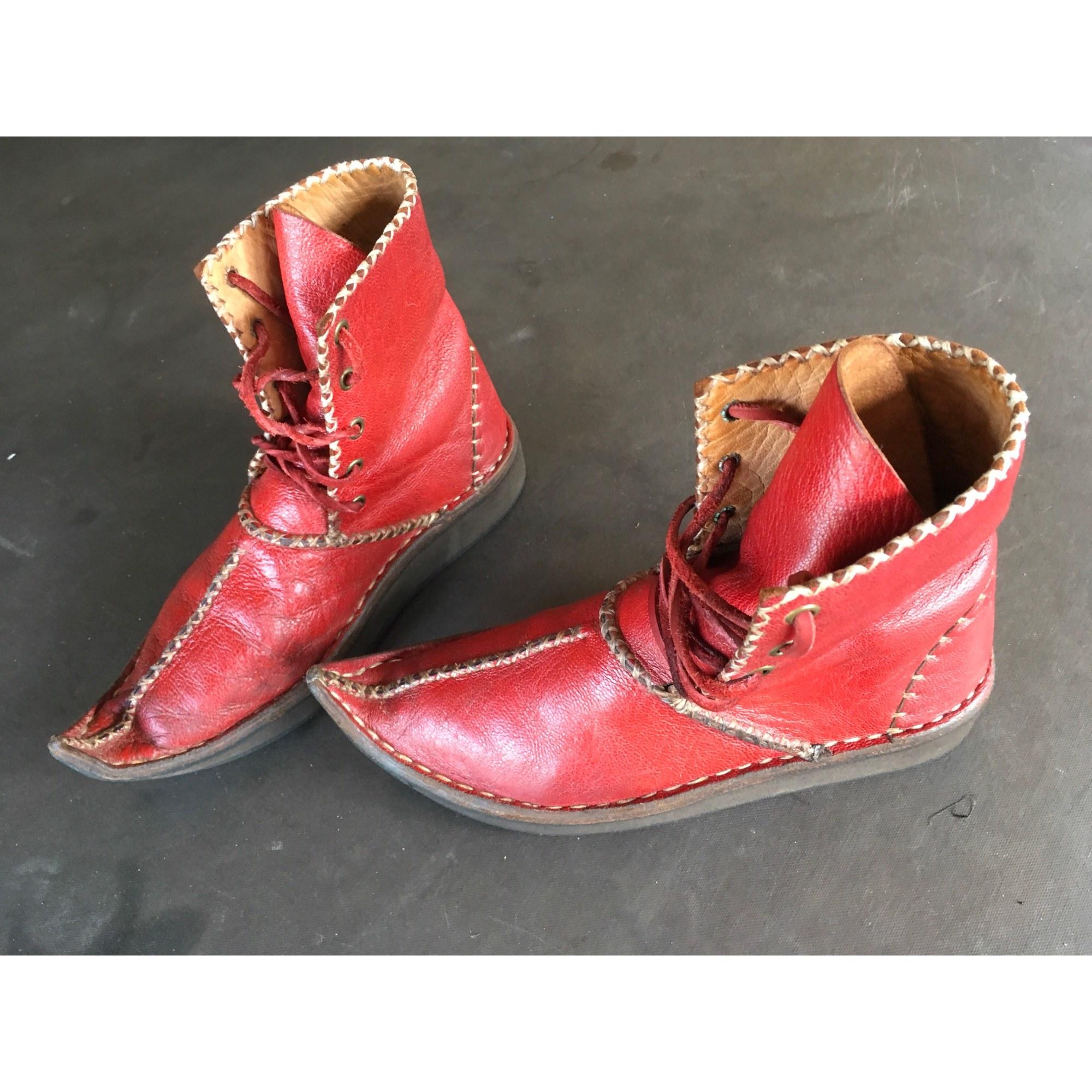Bottines & low boots plates ART Bordeaux