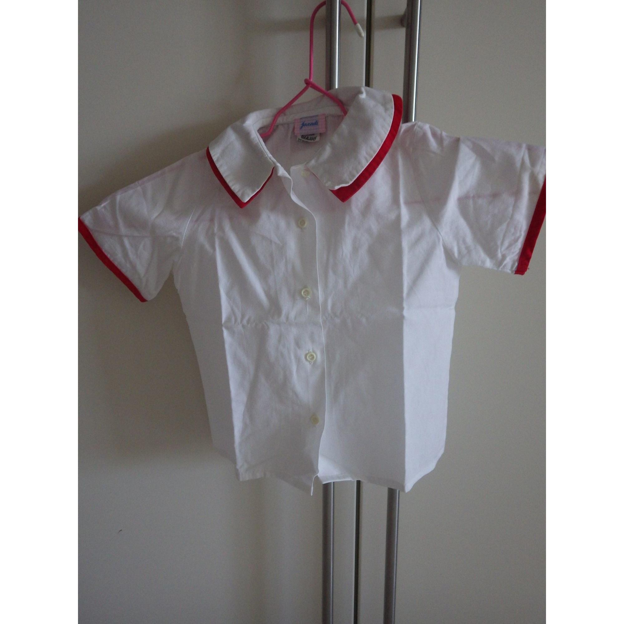 Chemisier, chemisette JACADI Blanc, blanc cassé, écru