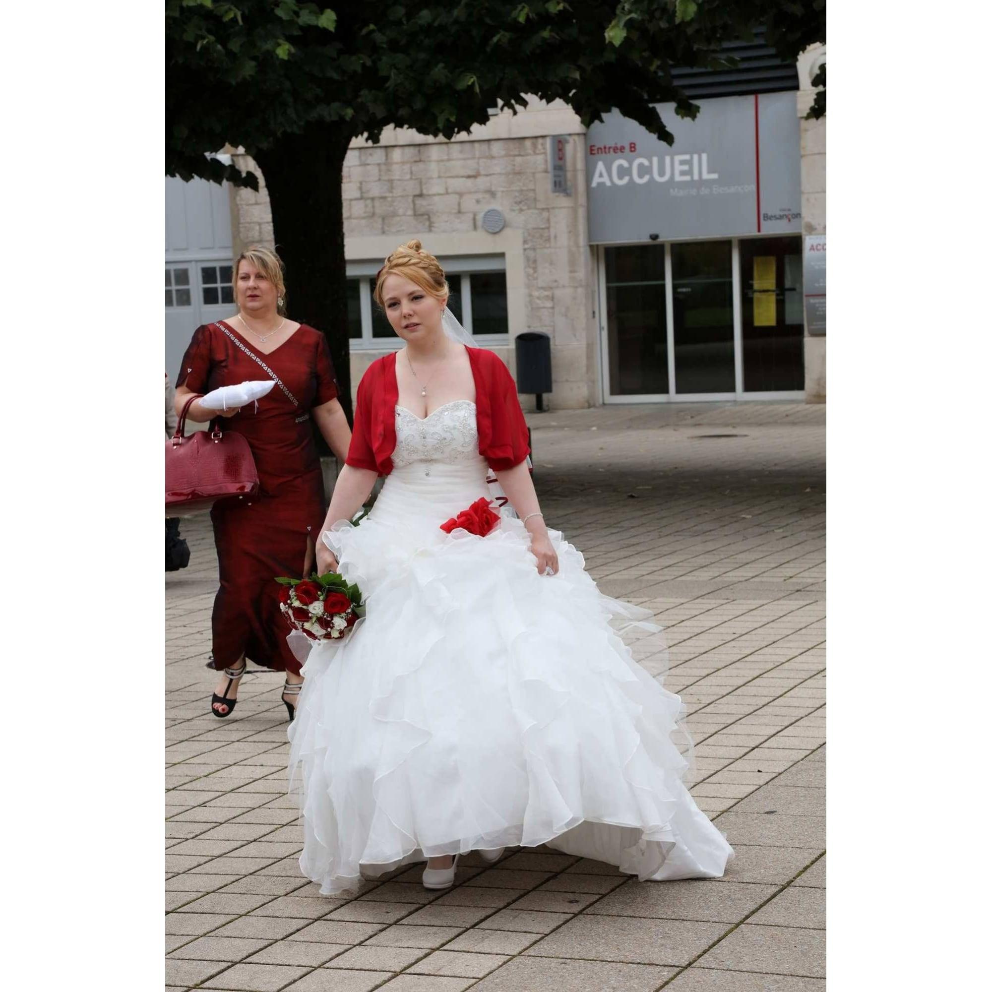 Robe De Mariee Tati 42 L Xl T4 Blanc 7839409