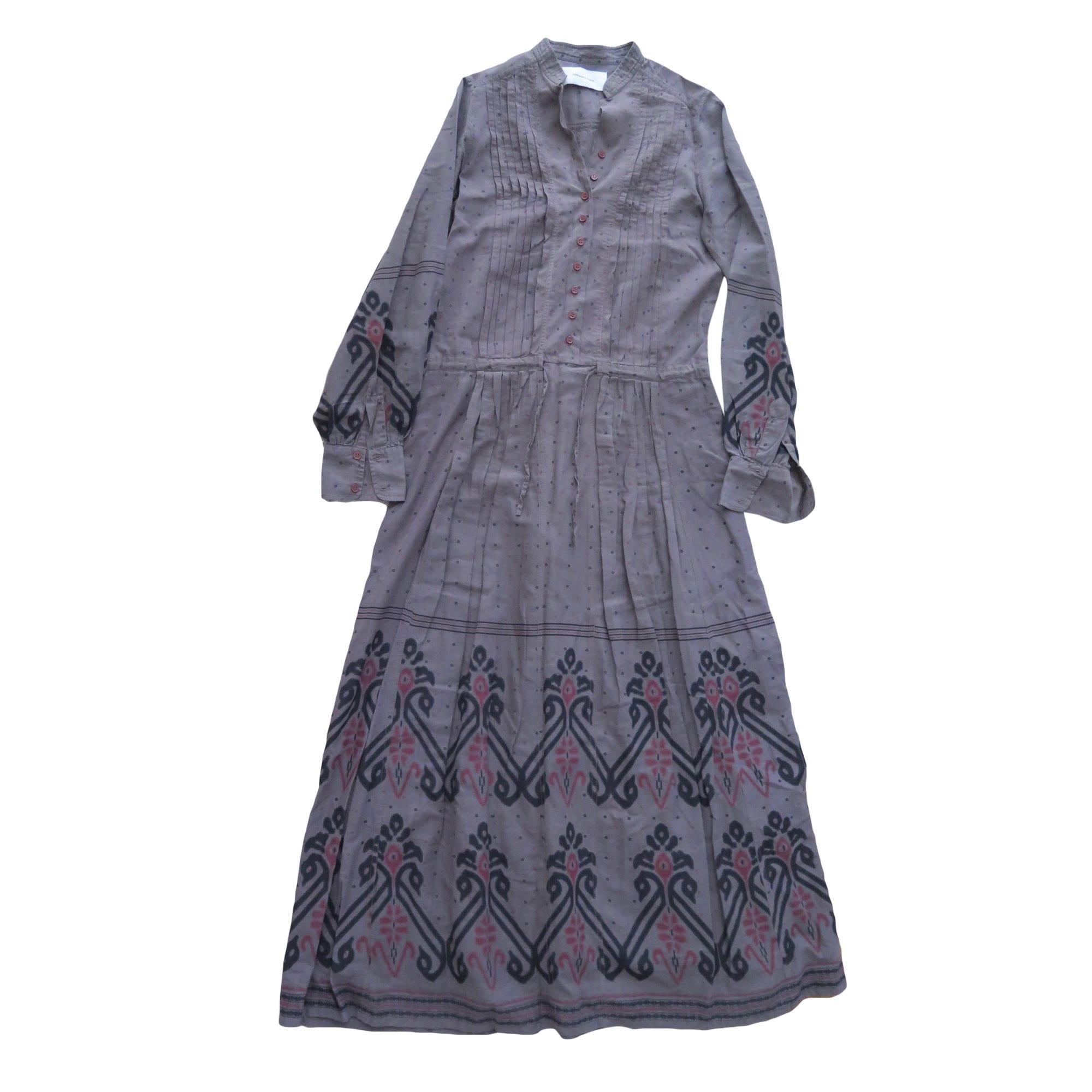 Robe longue MADAME A PARIS Multicouleur