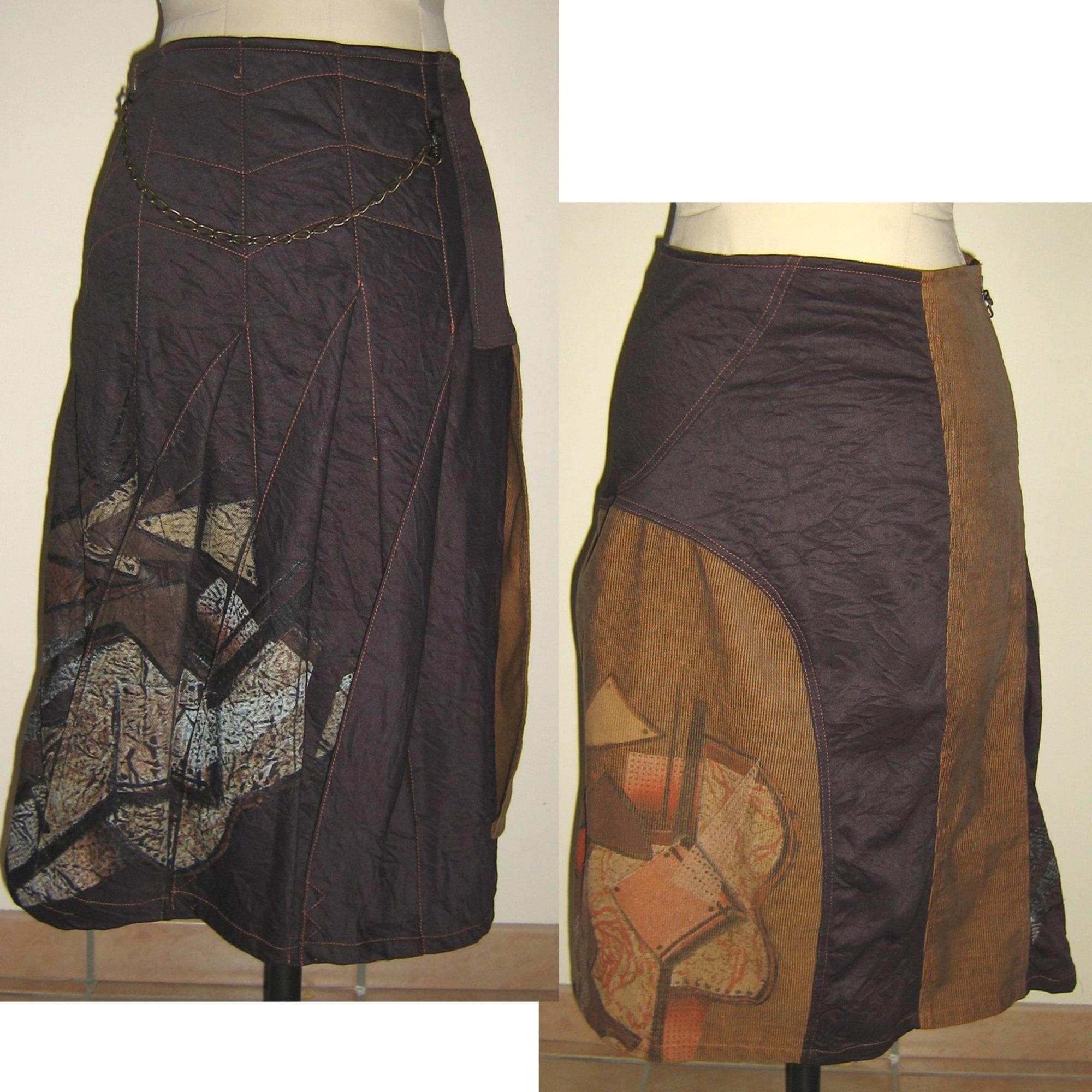 Jupe longue OHDD Marron
