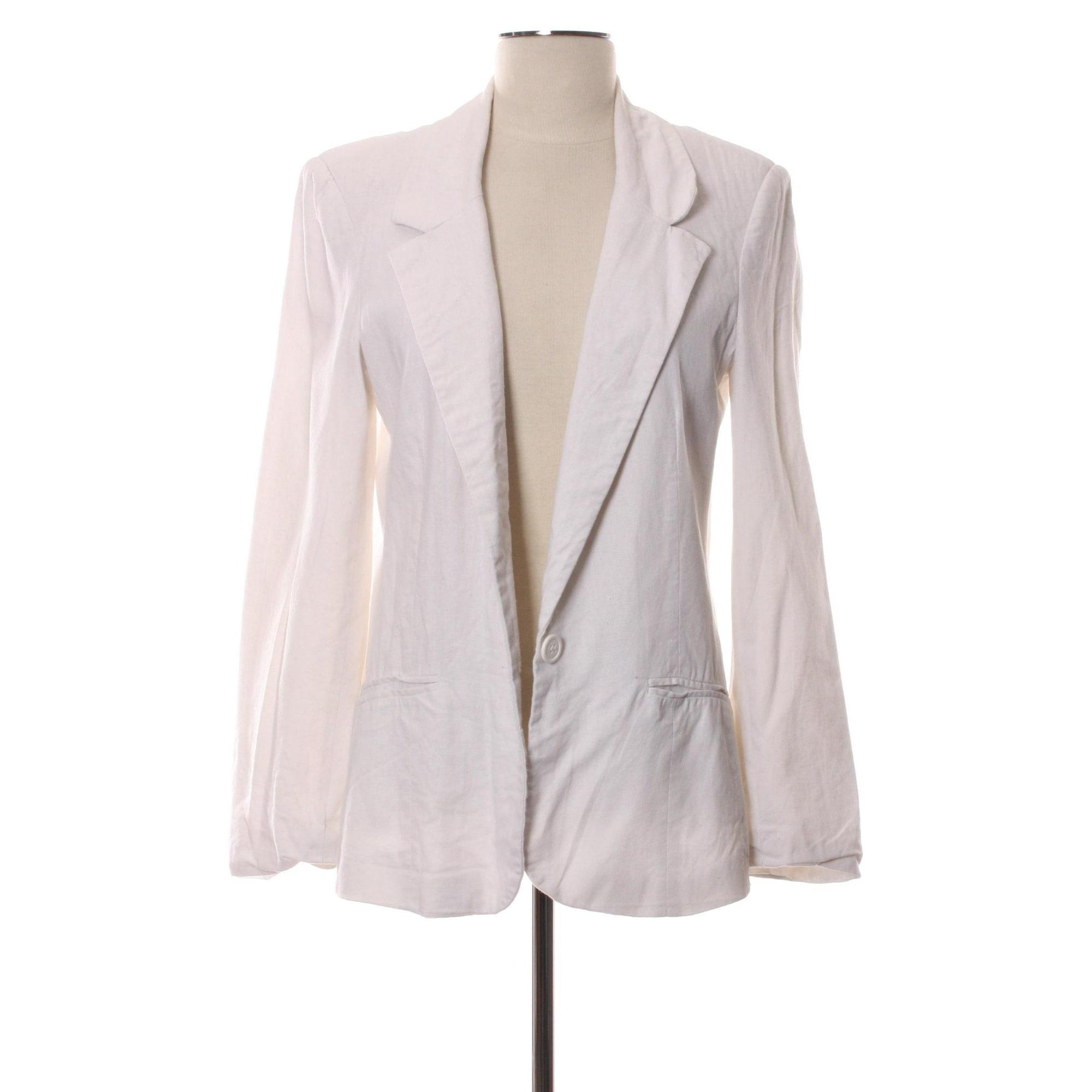 Veste ASOS Blanc, blanc cassé, écru