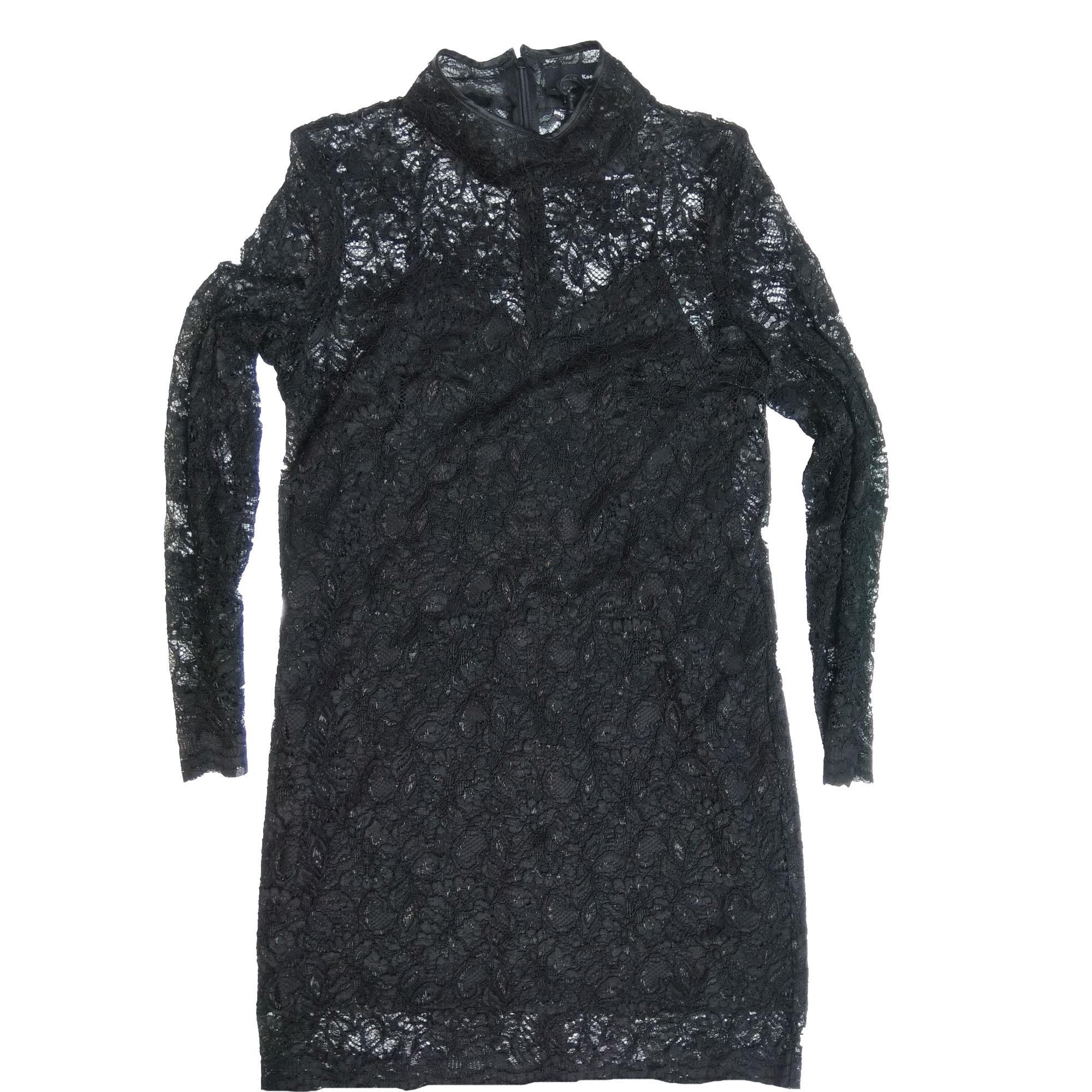 Robe courte THE KOOPLES Noir