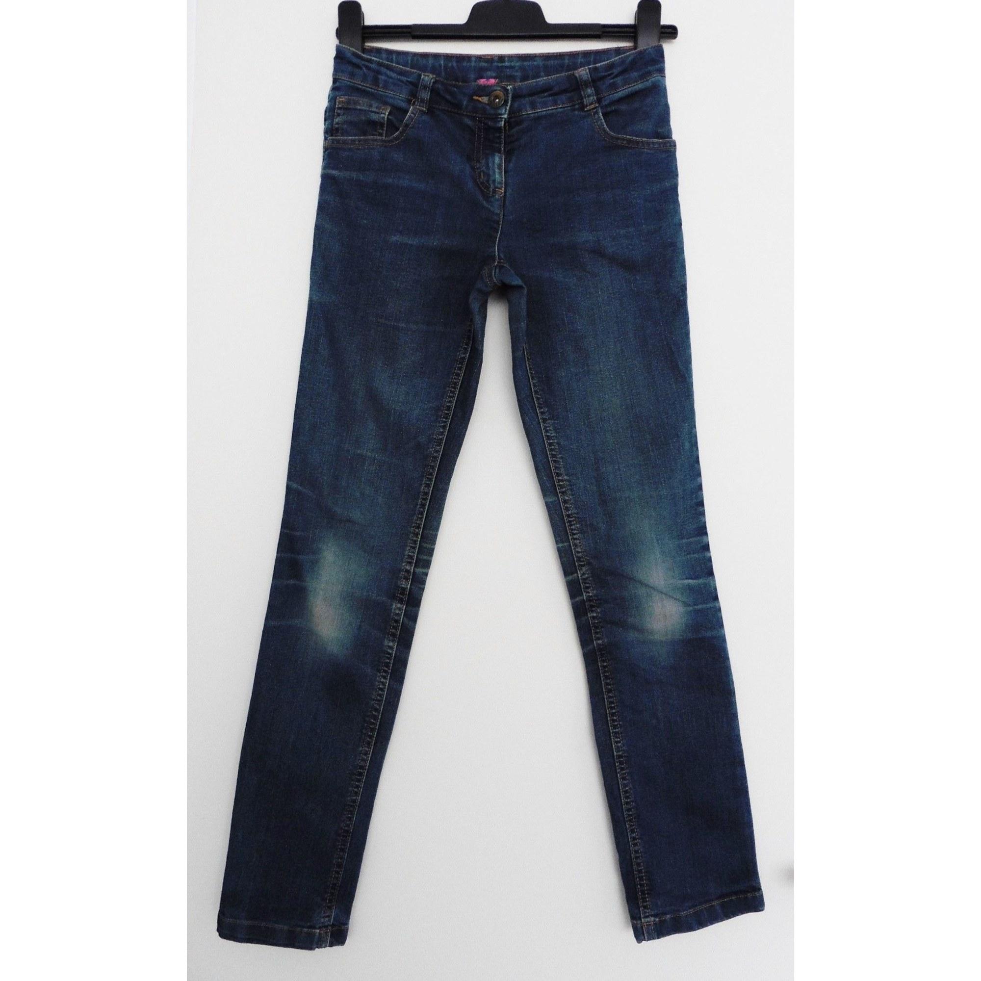 Jeans droit BILOOK Bleu, bleu marine, bleu turquoise